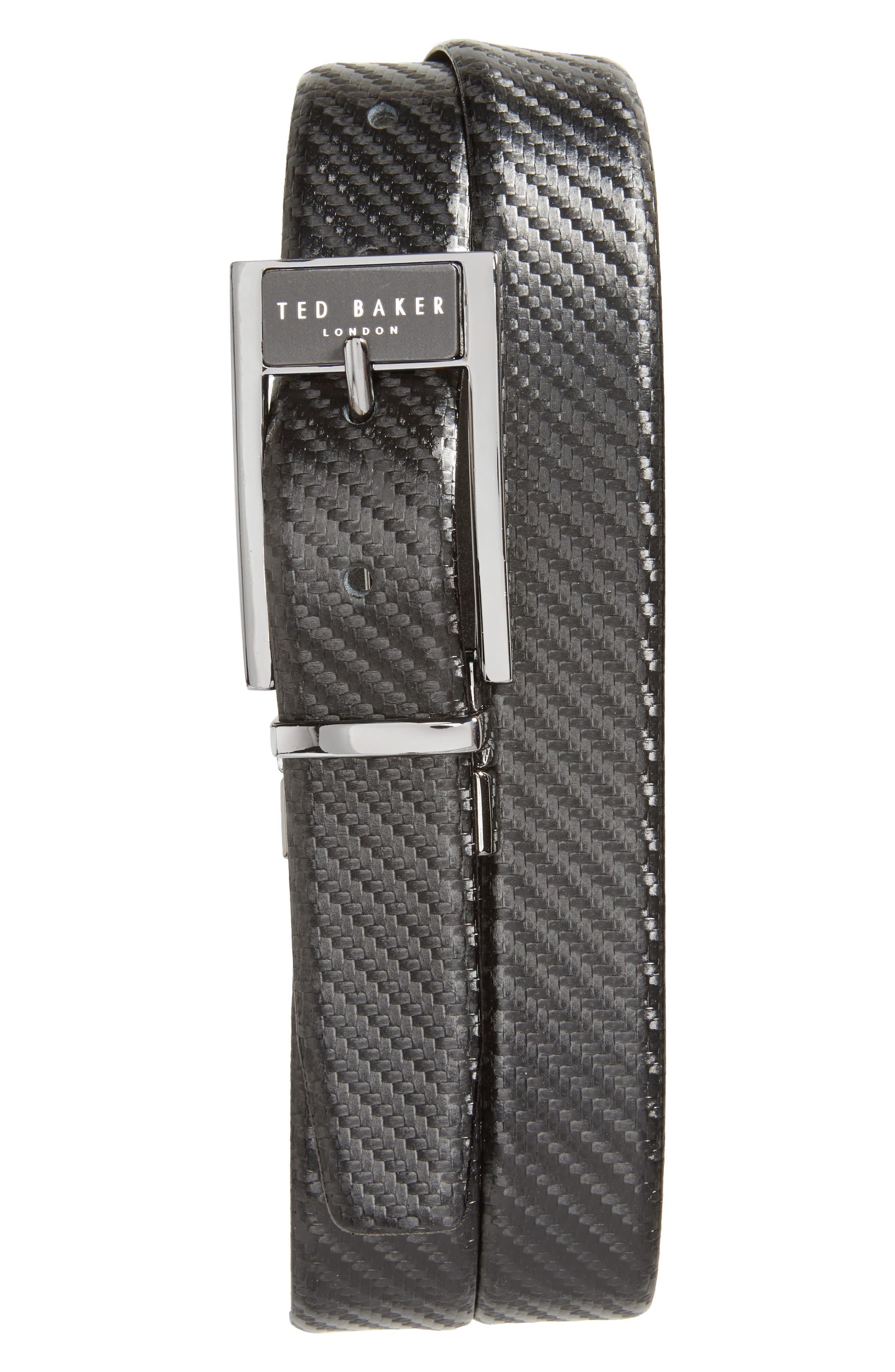 TED BAKER LONDON Hibisis Reversible Belt
