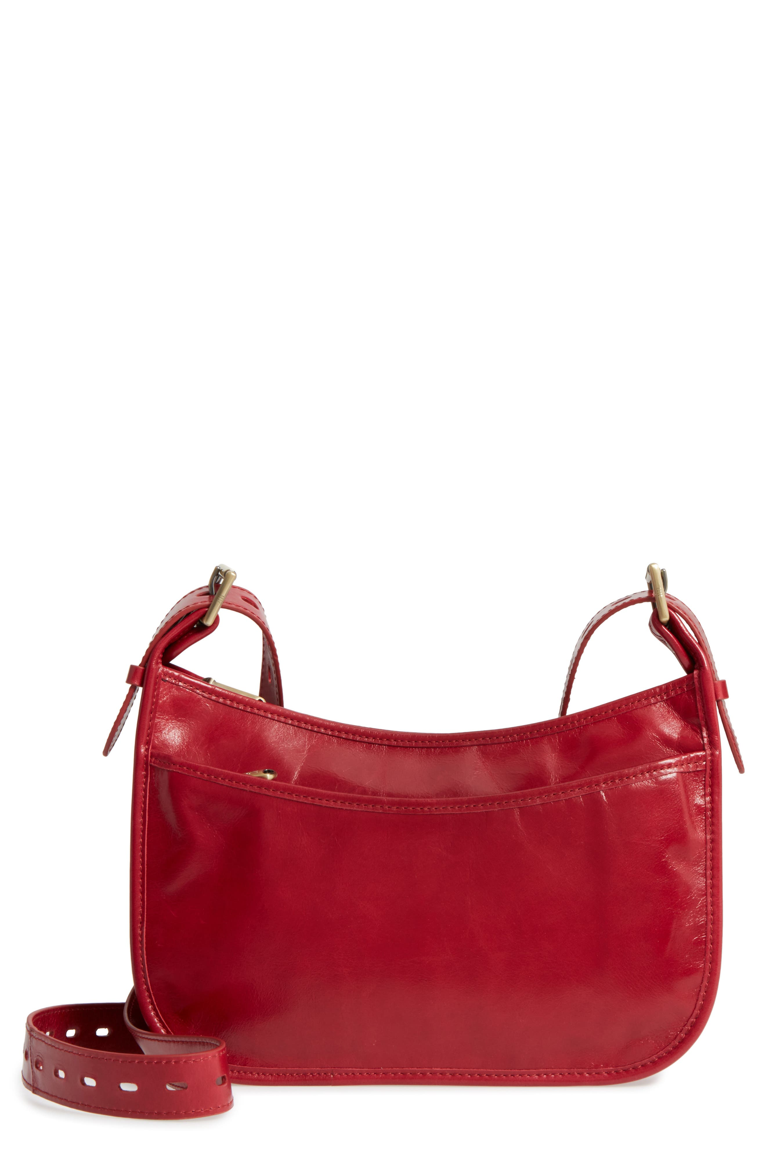 Hobo Chase Calfskin Leather Crossbody Bag