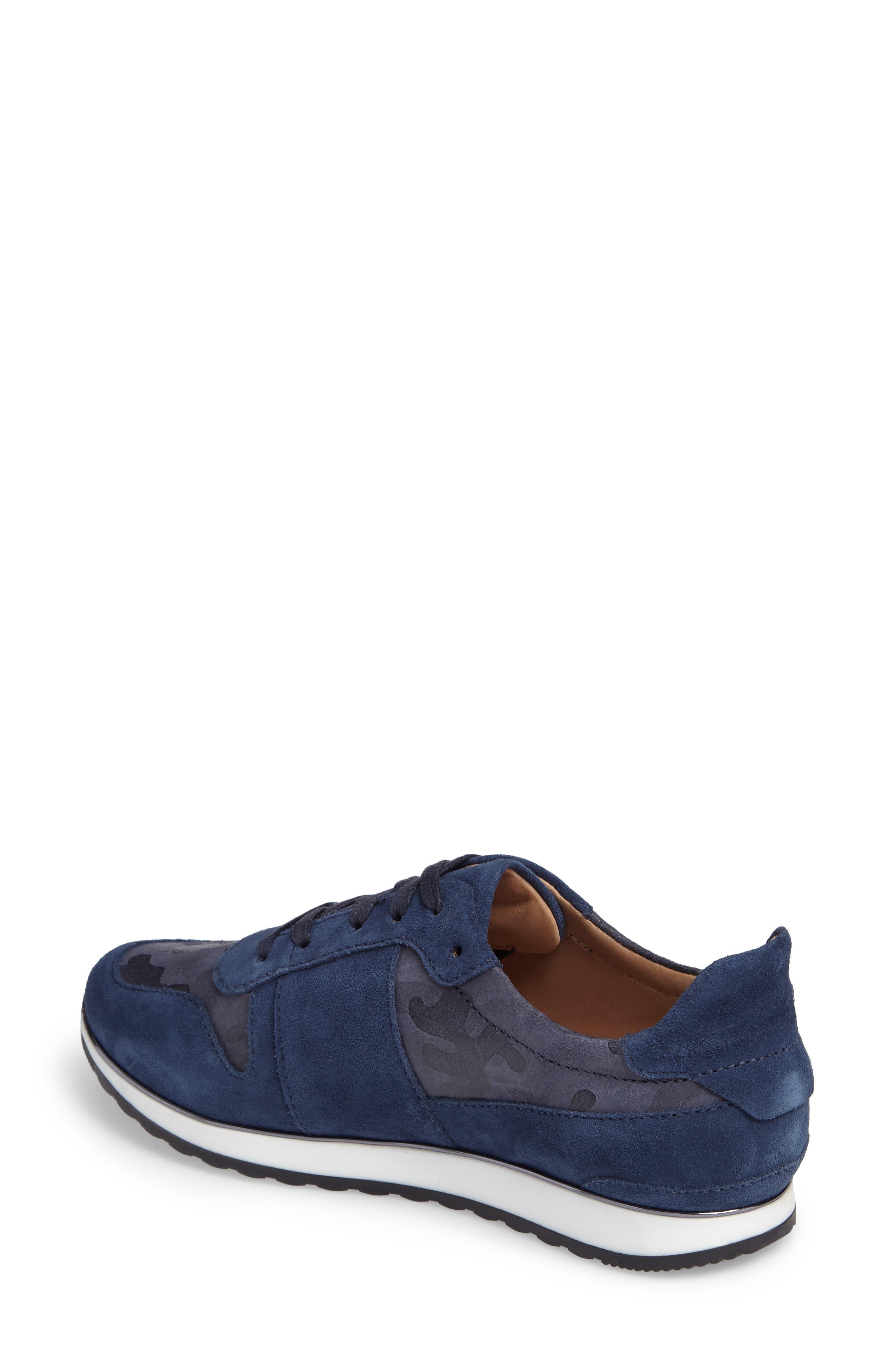 Stefani Sneaker,                             Alternate thumbnail 2, color,                             Camo Nubuck Leather