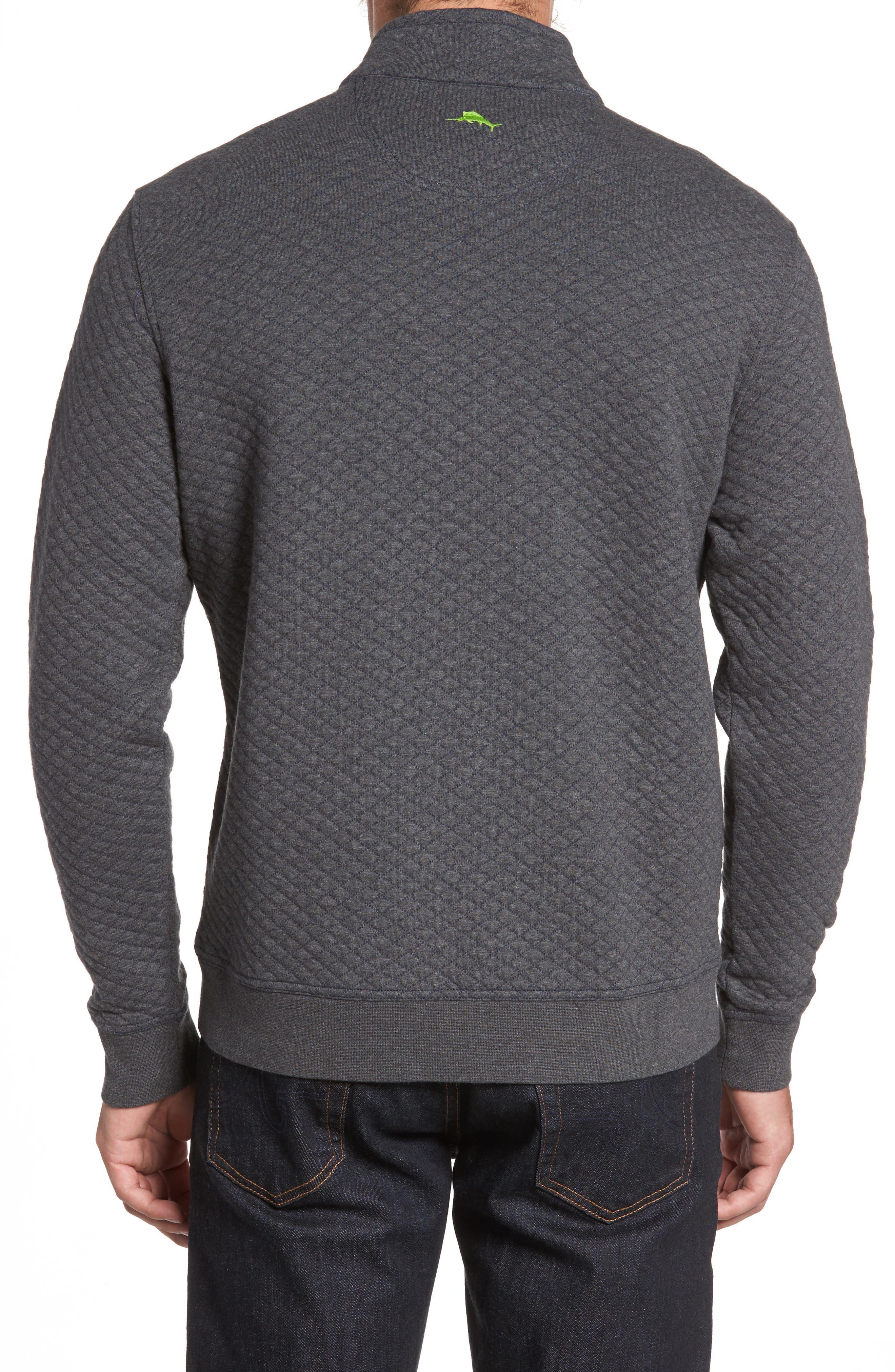 Alternate Image 2  - Tommy Bahama NFL Quiltessential Full Zip Sweatshirt