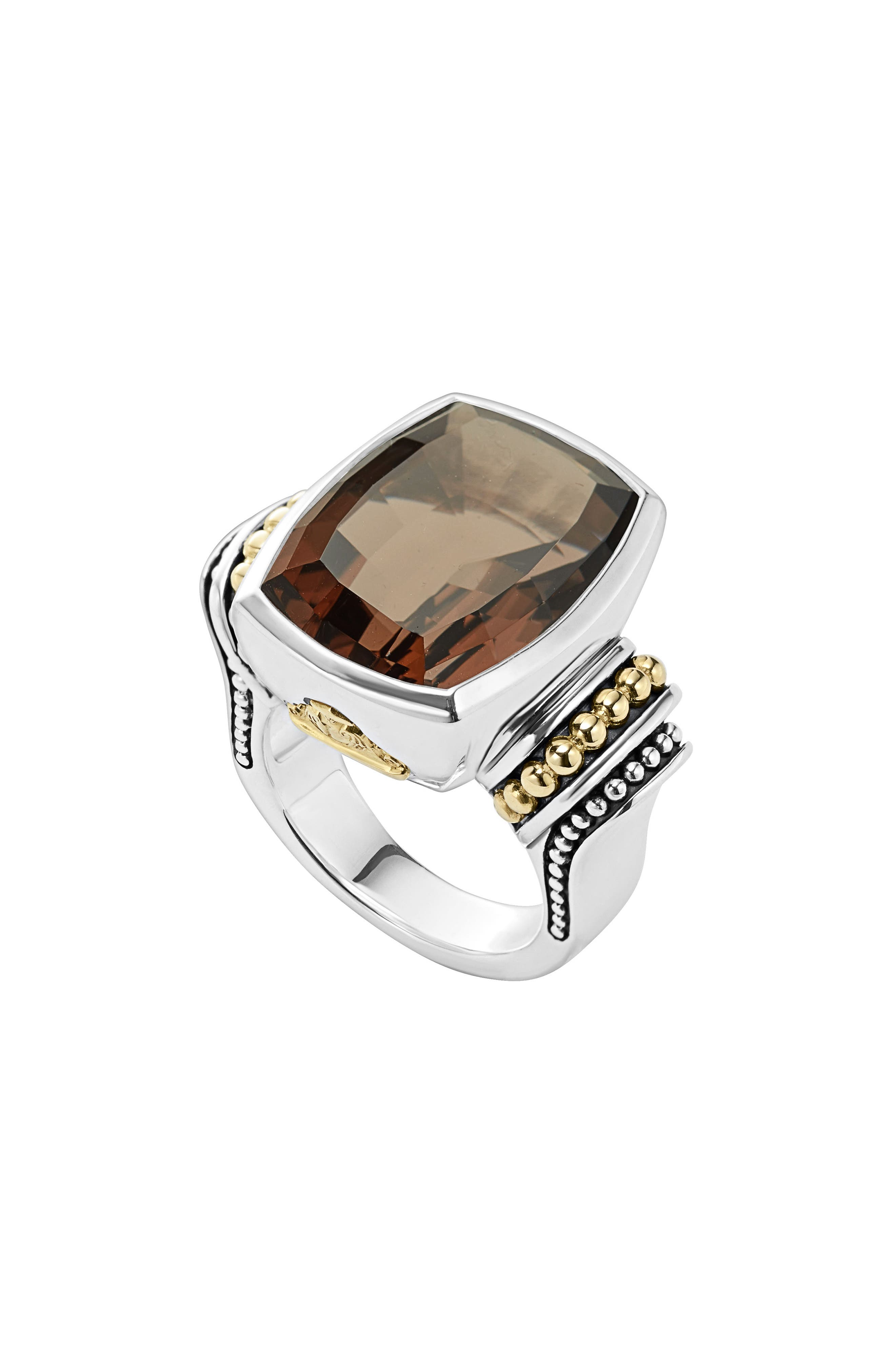 LAGOS Caviar Color Large Semiprecious Stone Ring