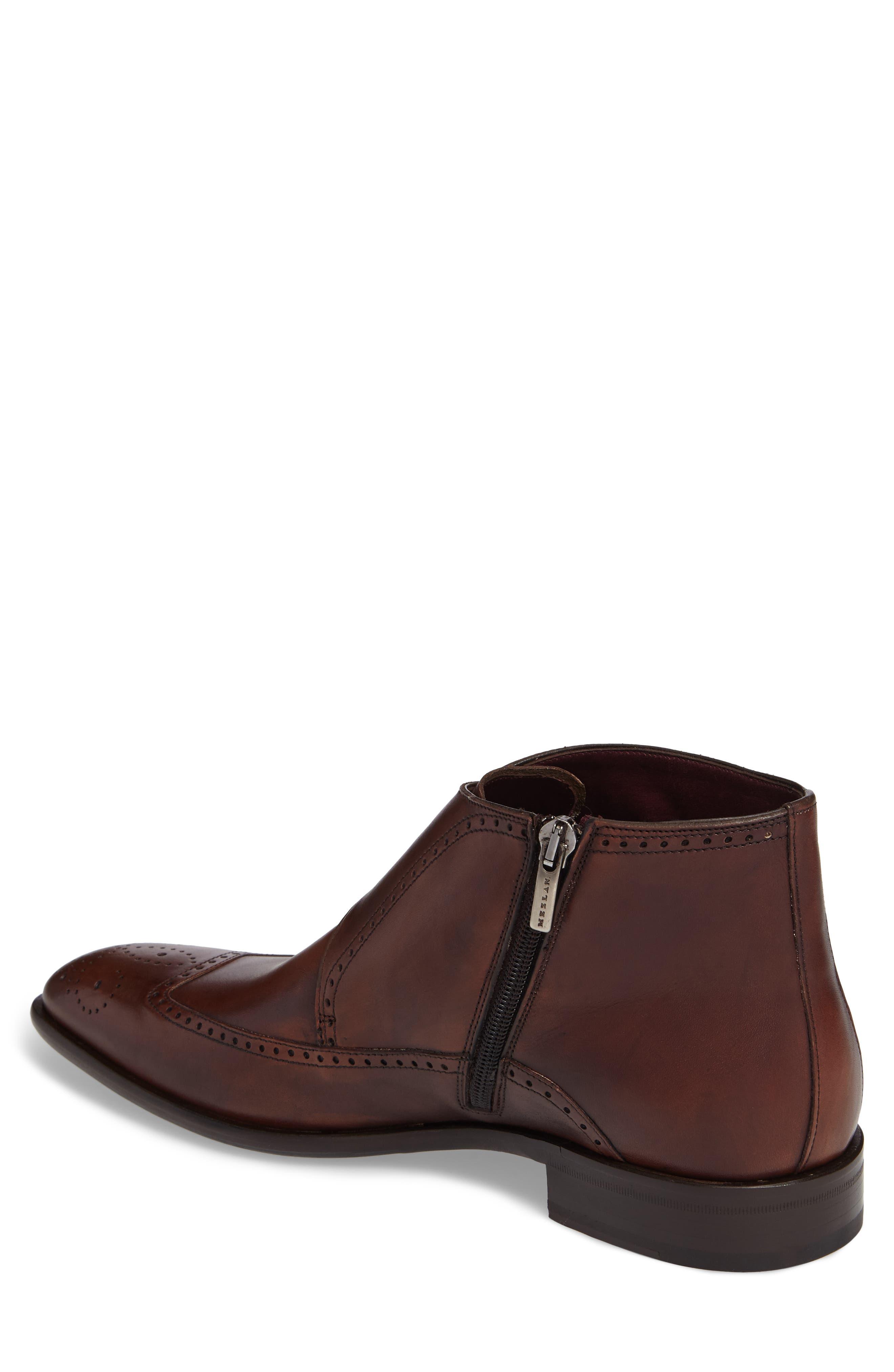 Taberna Double Monk Strap Boot,                             Alternate thumbnail 2, color,                             Cognac Leather