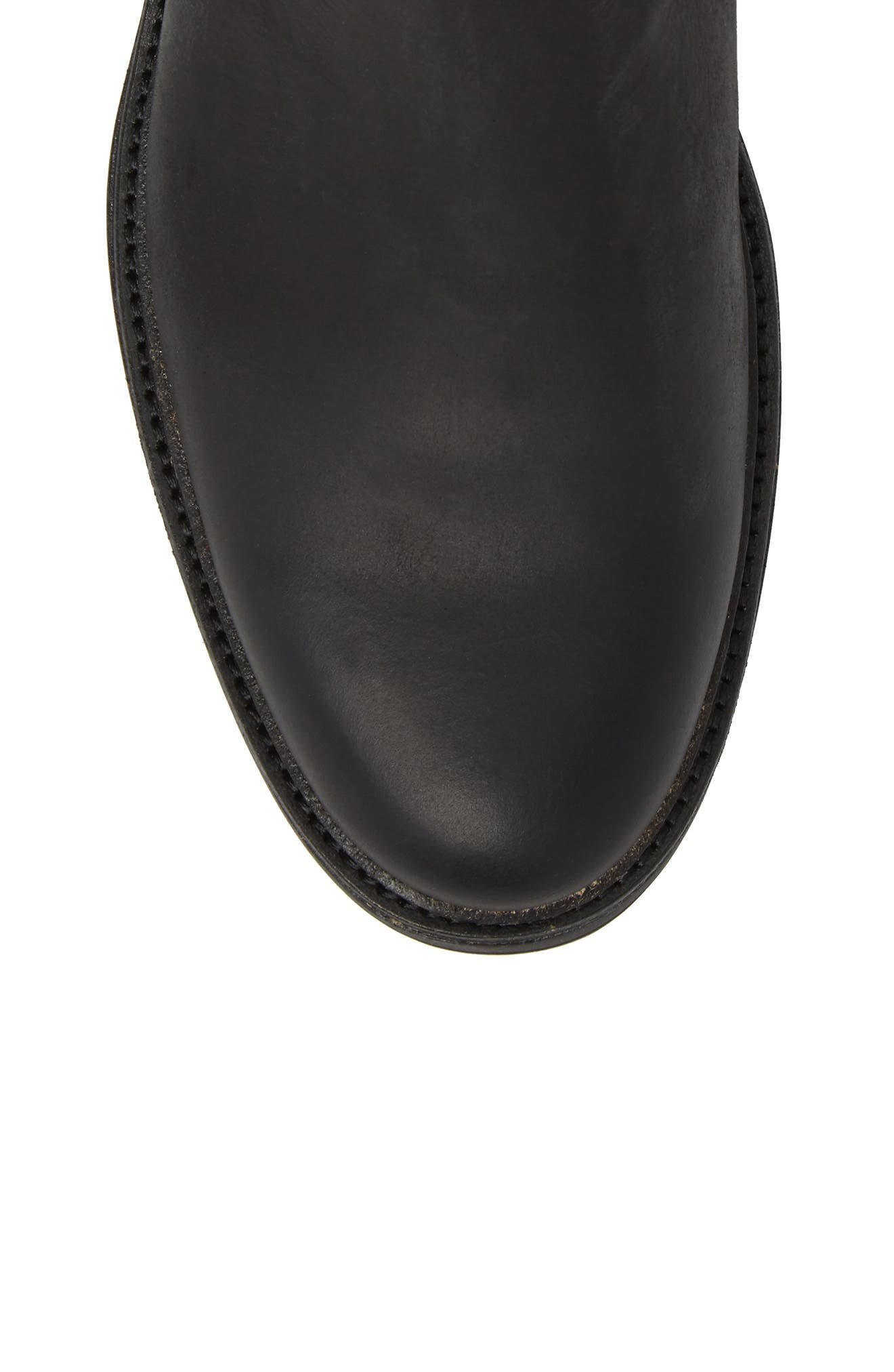 Baldvin Chelsea Boot,                             Alternate thumbnail 5, color,                             Black