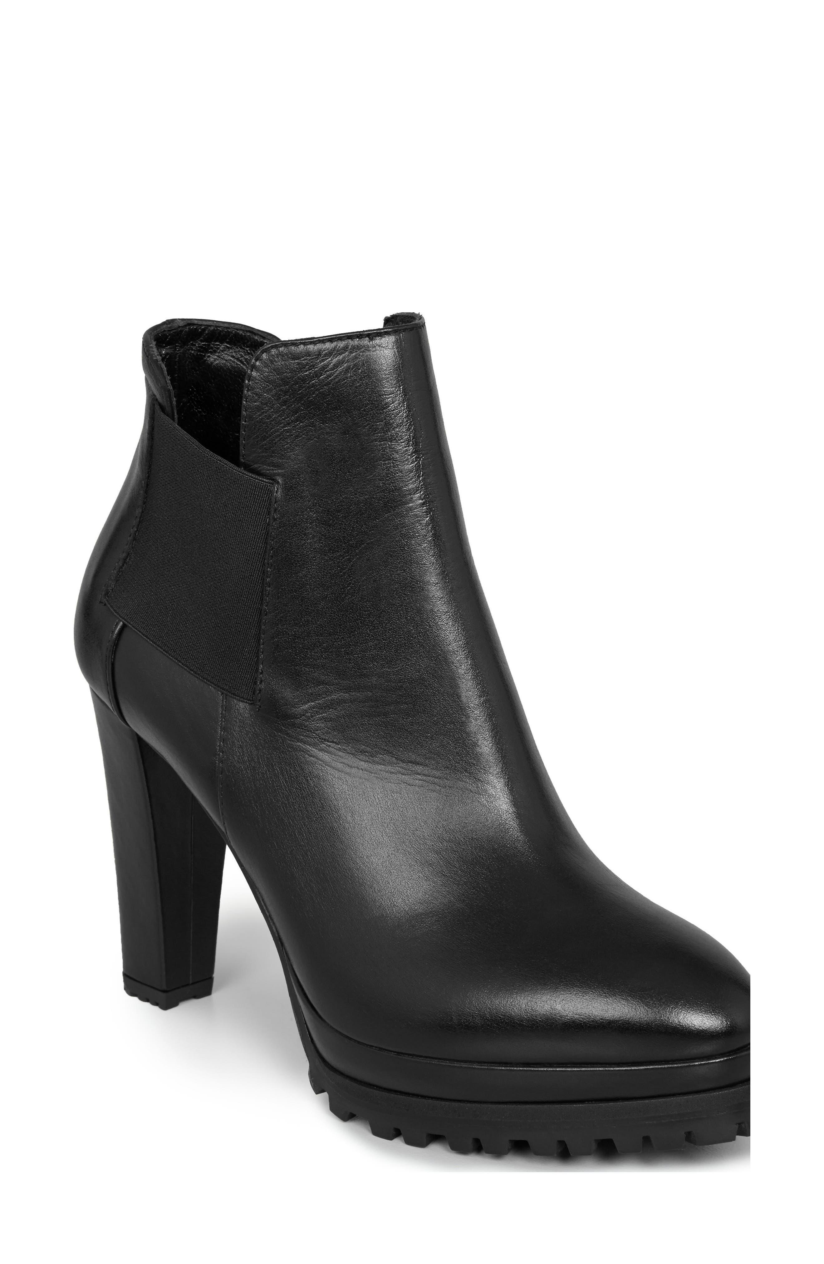 Main Image - ALLSAINTS Sarris Lugged Platform Bootie (Women)