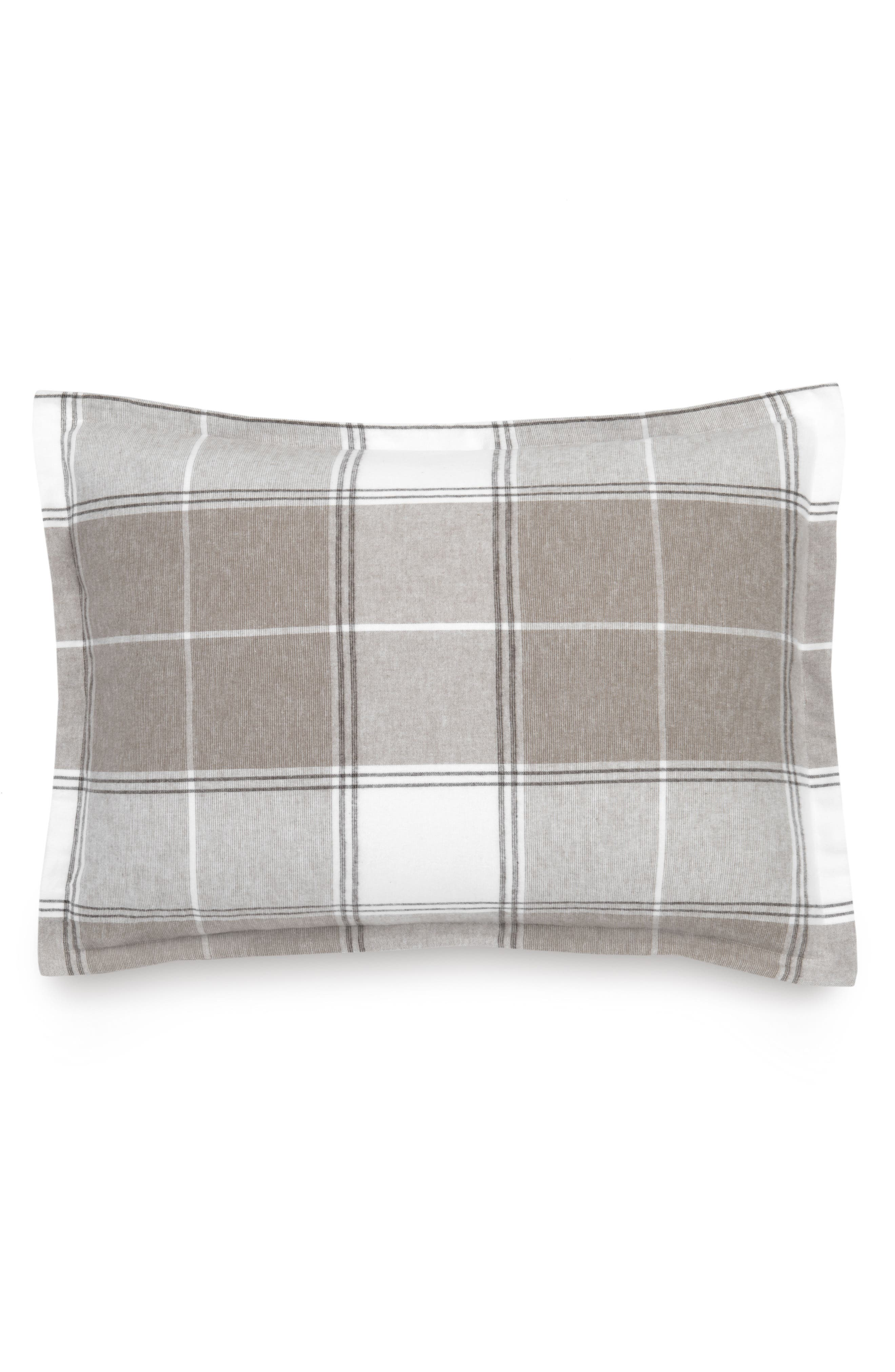 Alternate Image 1 Selected - UGG® Flannel Luxe Sham