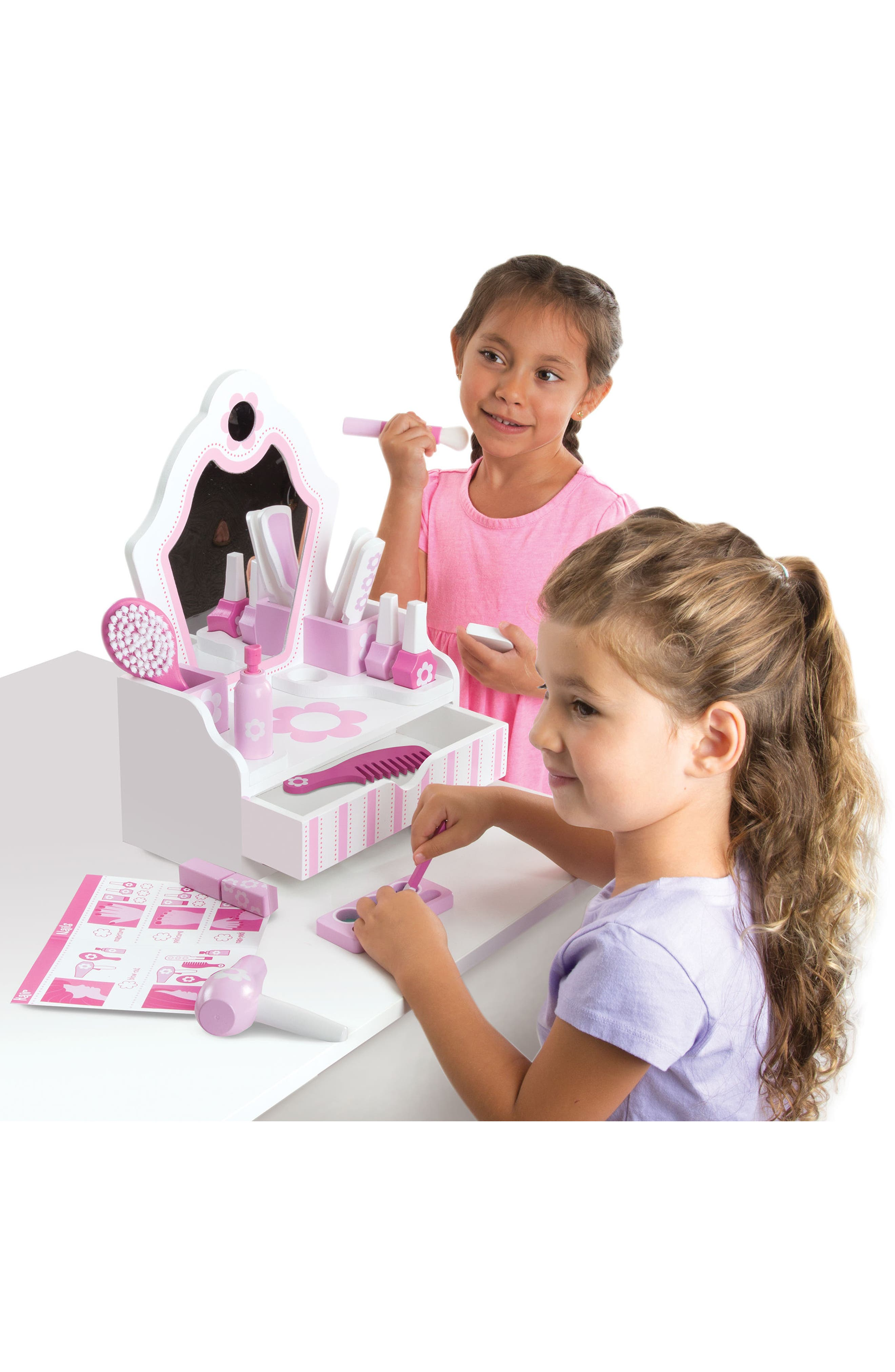 Vanity Play Set,                             Alternate thumbnail 4, color,                             Pink Multi