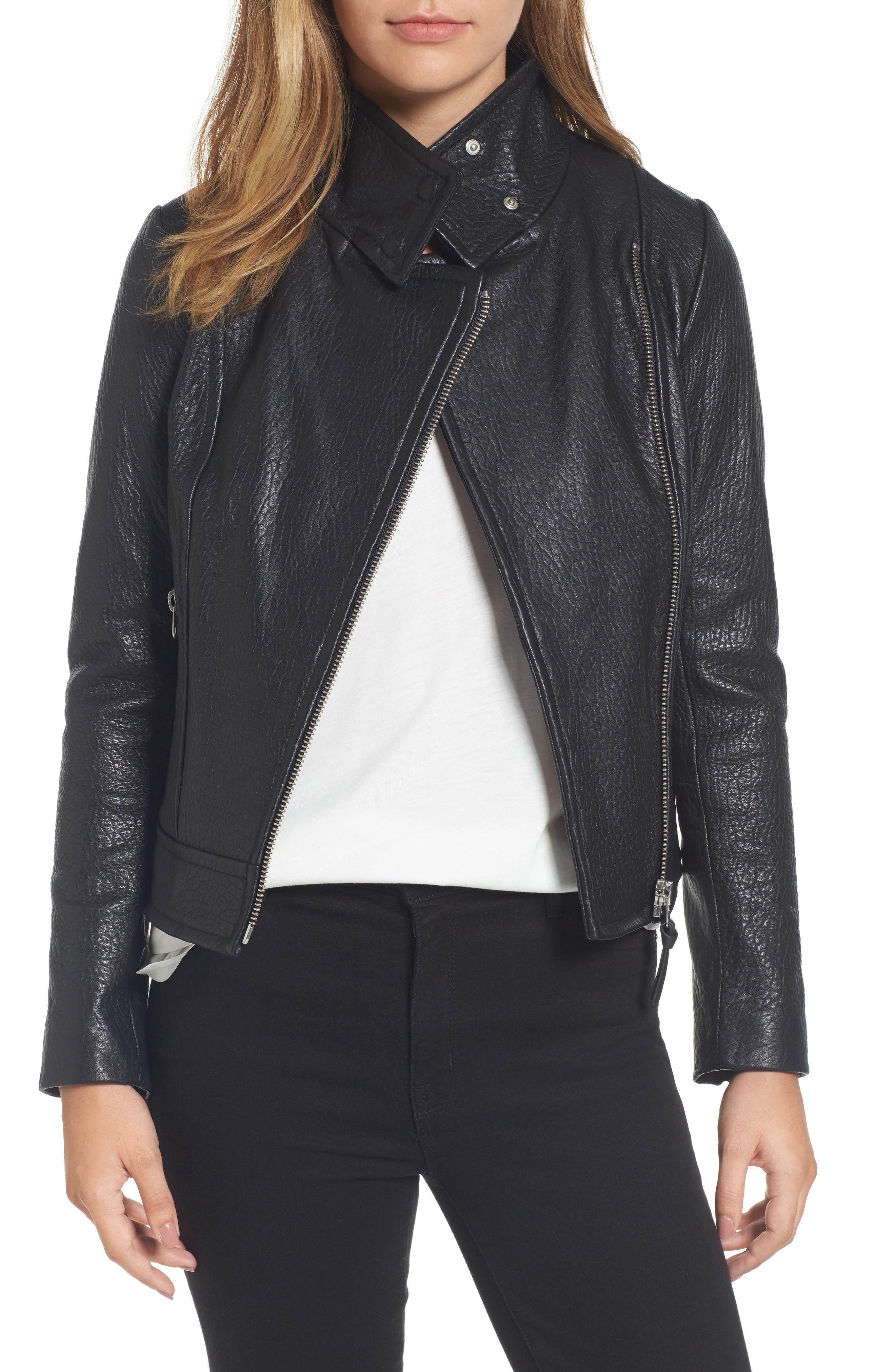 Mackage Lisa Signature Leather Jacket