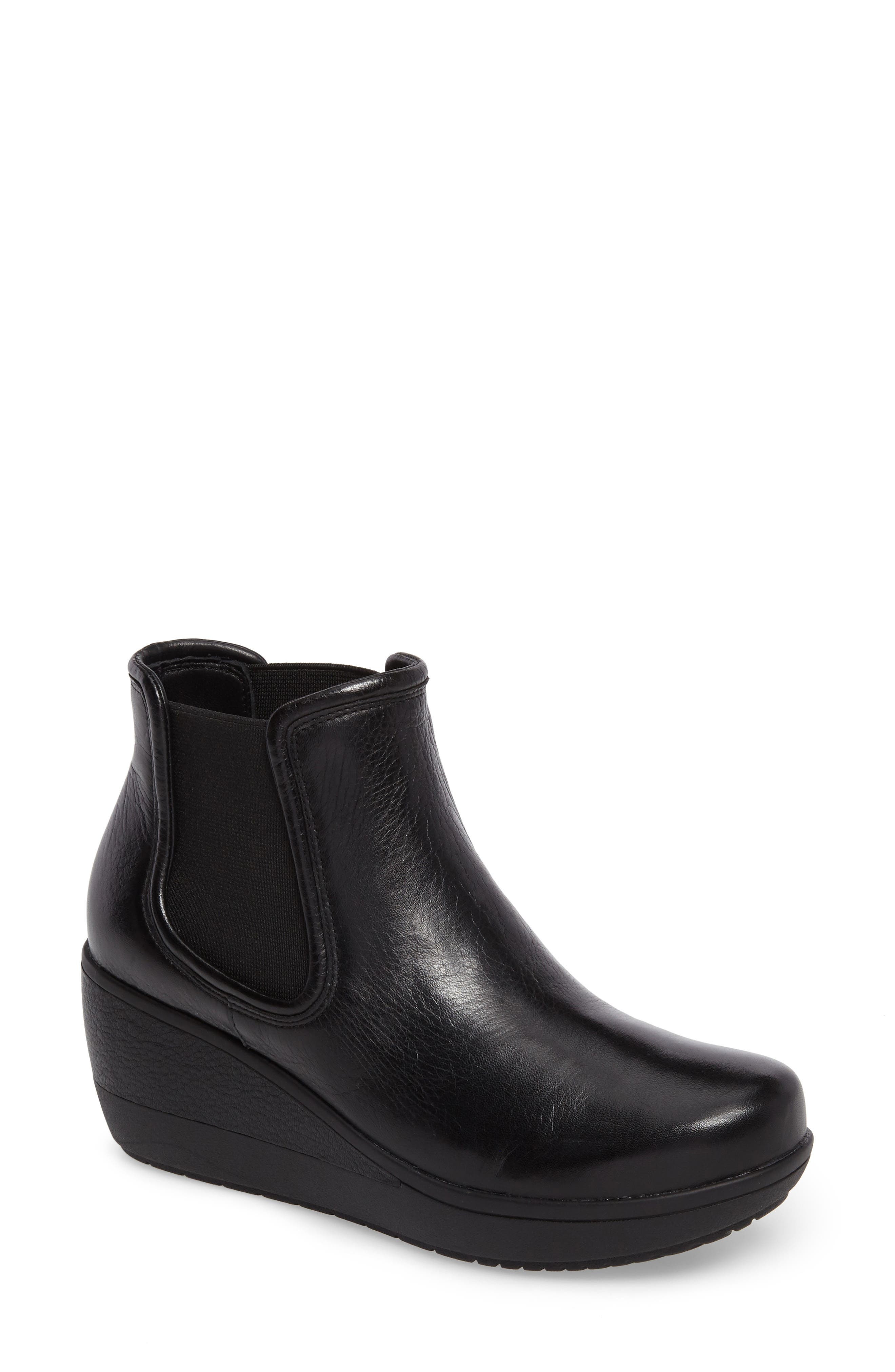 Wynnmere Mara Boot,                         Main,                         color, Black Leather