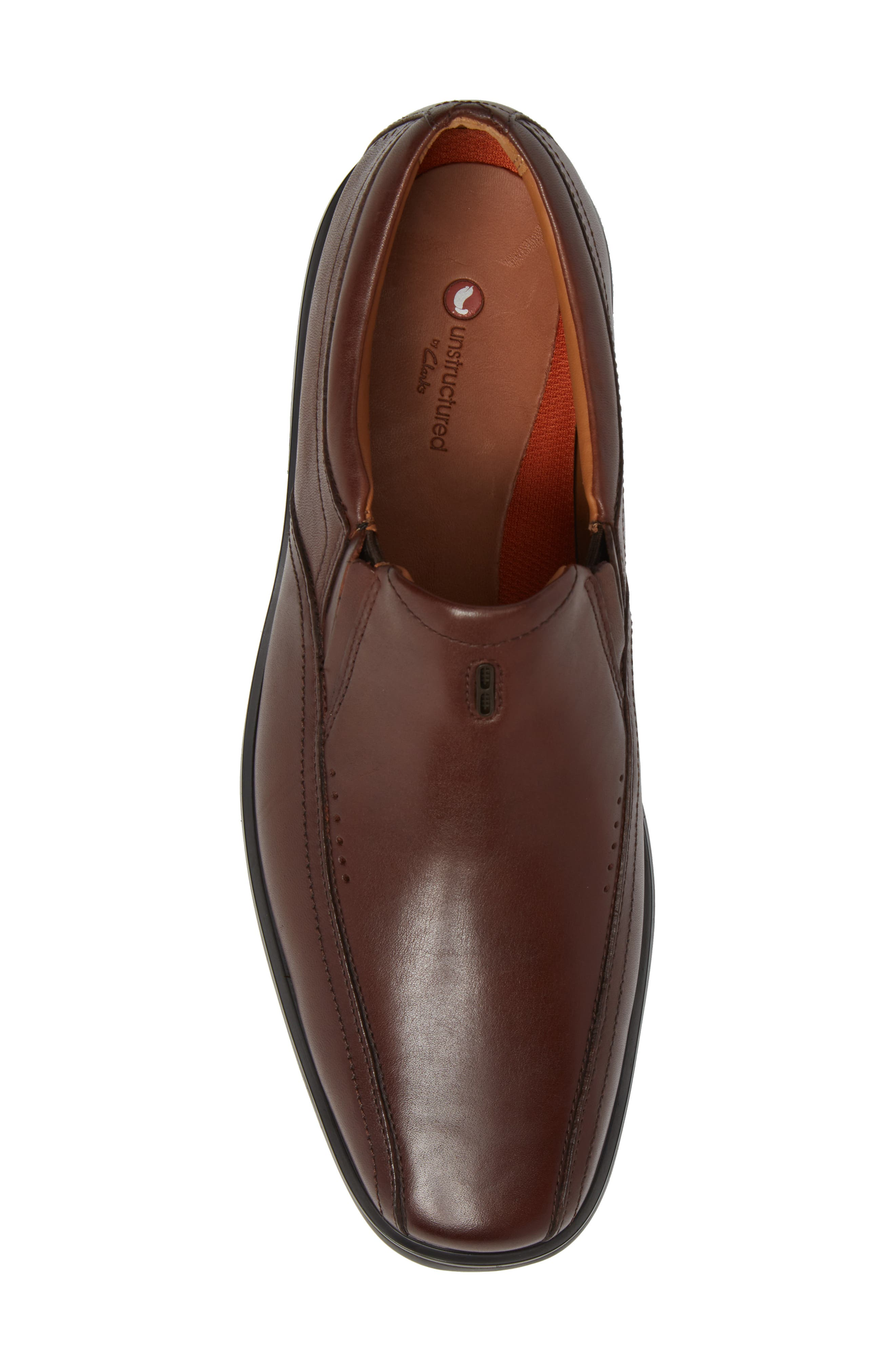 Un.Sheridan Go Loafer,                             Alternate thumbnail 5, color,                             Brown Leather