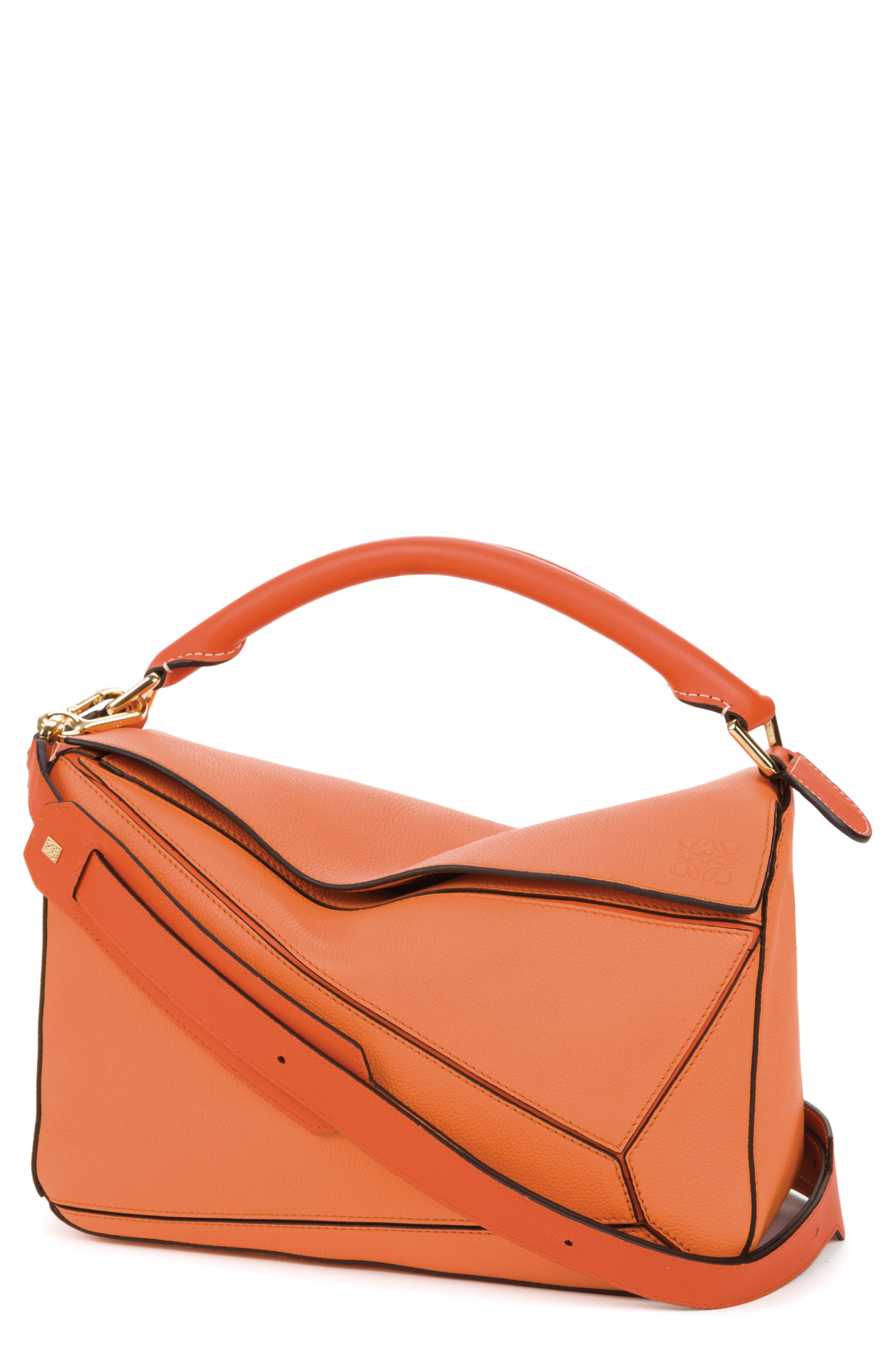 LOEWE Puzzle Calfskin Leather Bag