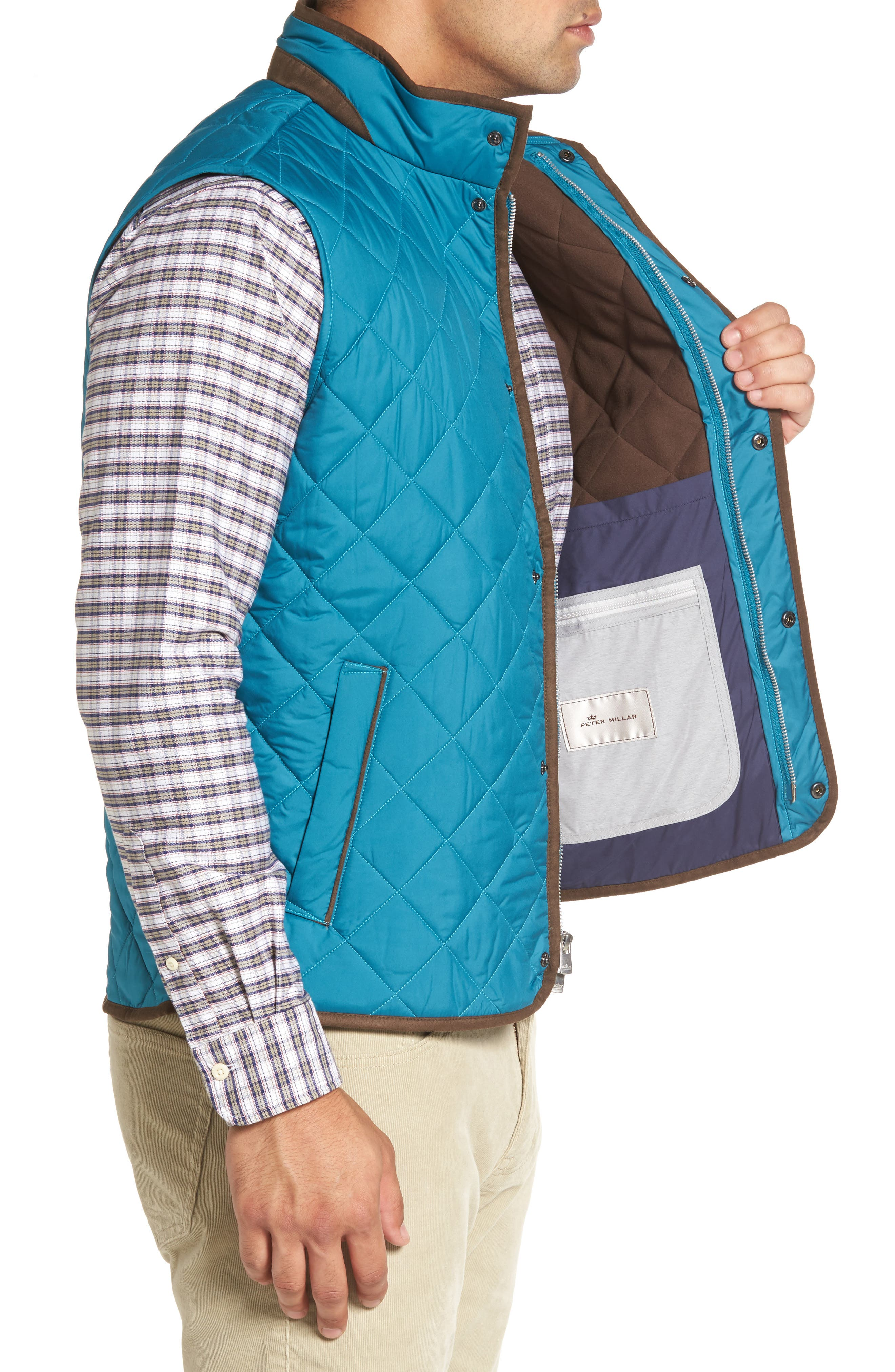 Alternate Image 3  - Peter Millar Essex Quilted Vest