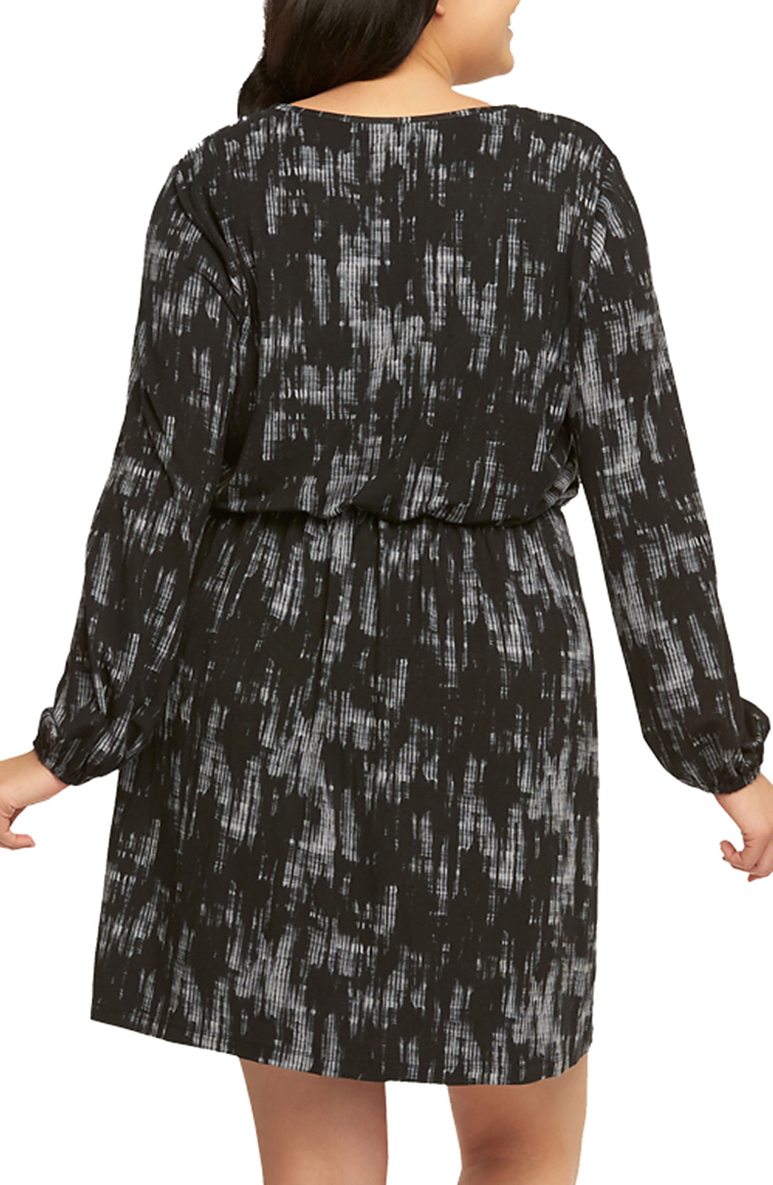Alternate Image 2  - Tart 'Robby' Print Jersey V-Neck Dress (Plus Size)