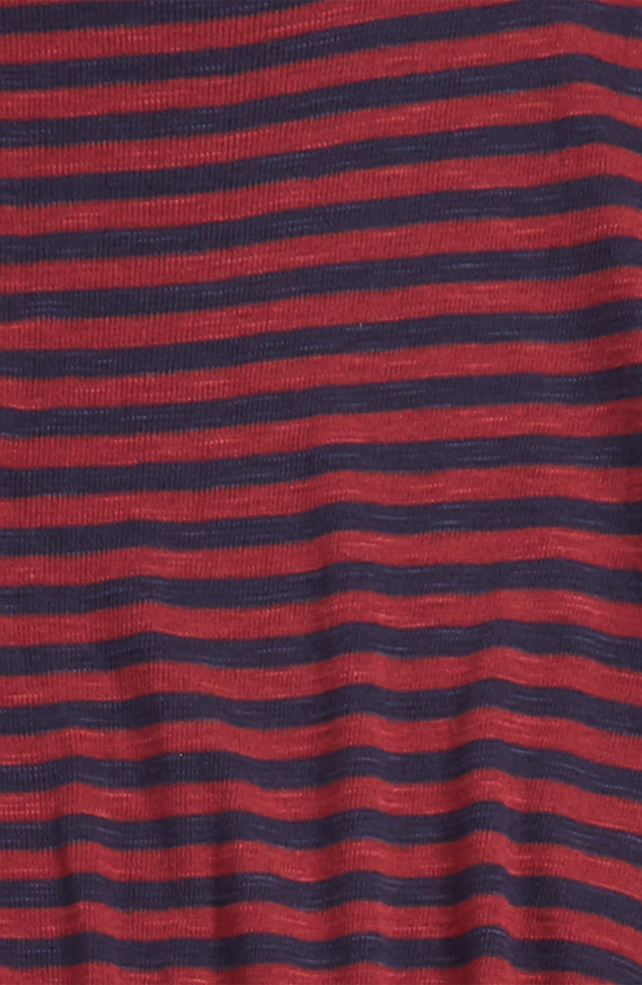 Alternate Image 2  - Tucker + Tate Stripe Tee (Big Girls)