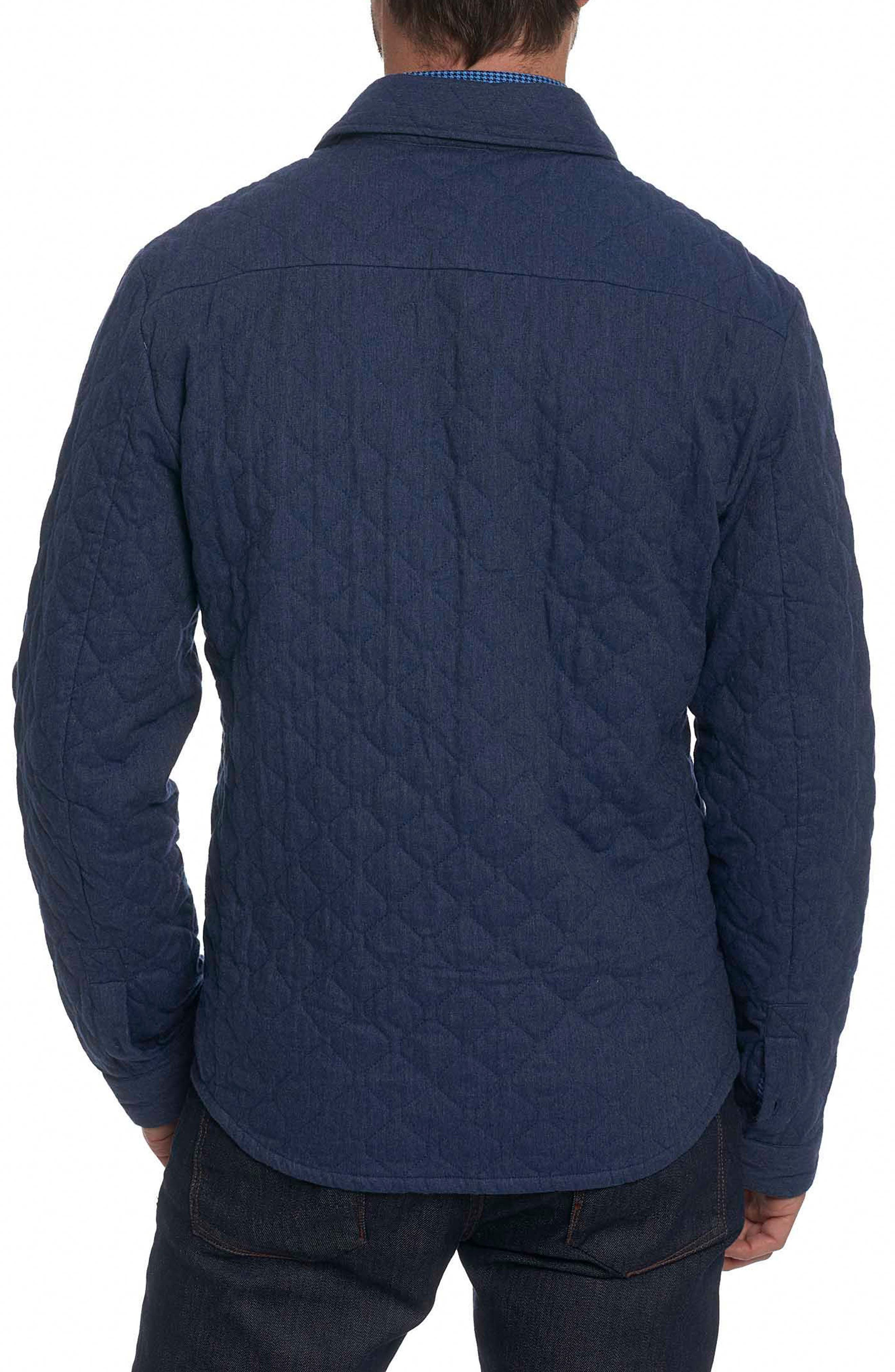 Alternate Image 2  - Robert Graham Lance Quilted Shirt Jacket