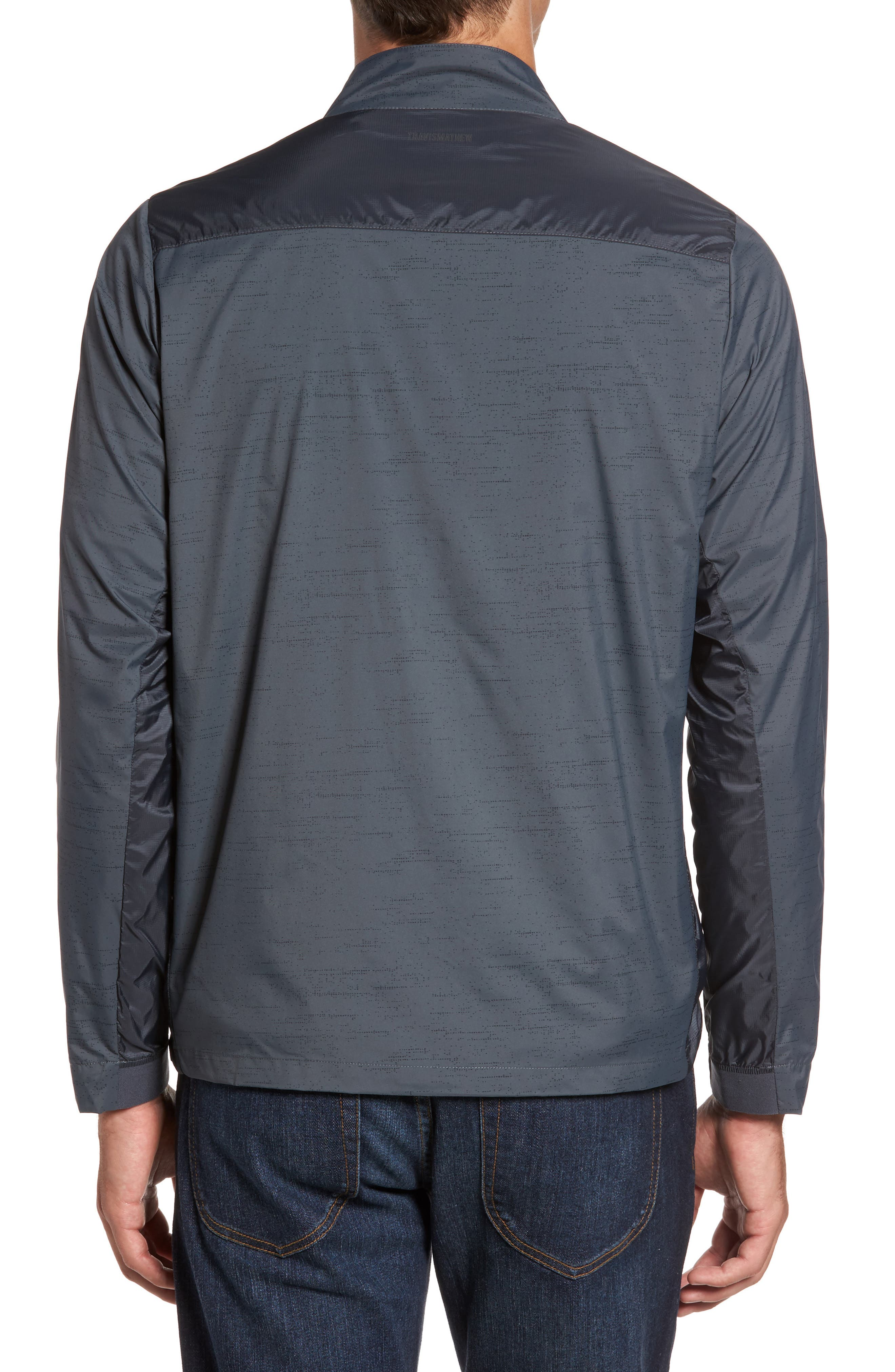 The Voyager Jacket,                             Alternate thumbnail 2, color,                             Grey Pinstripe