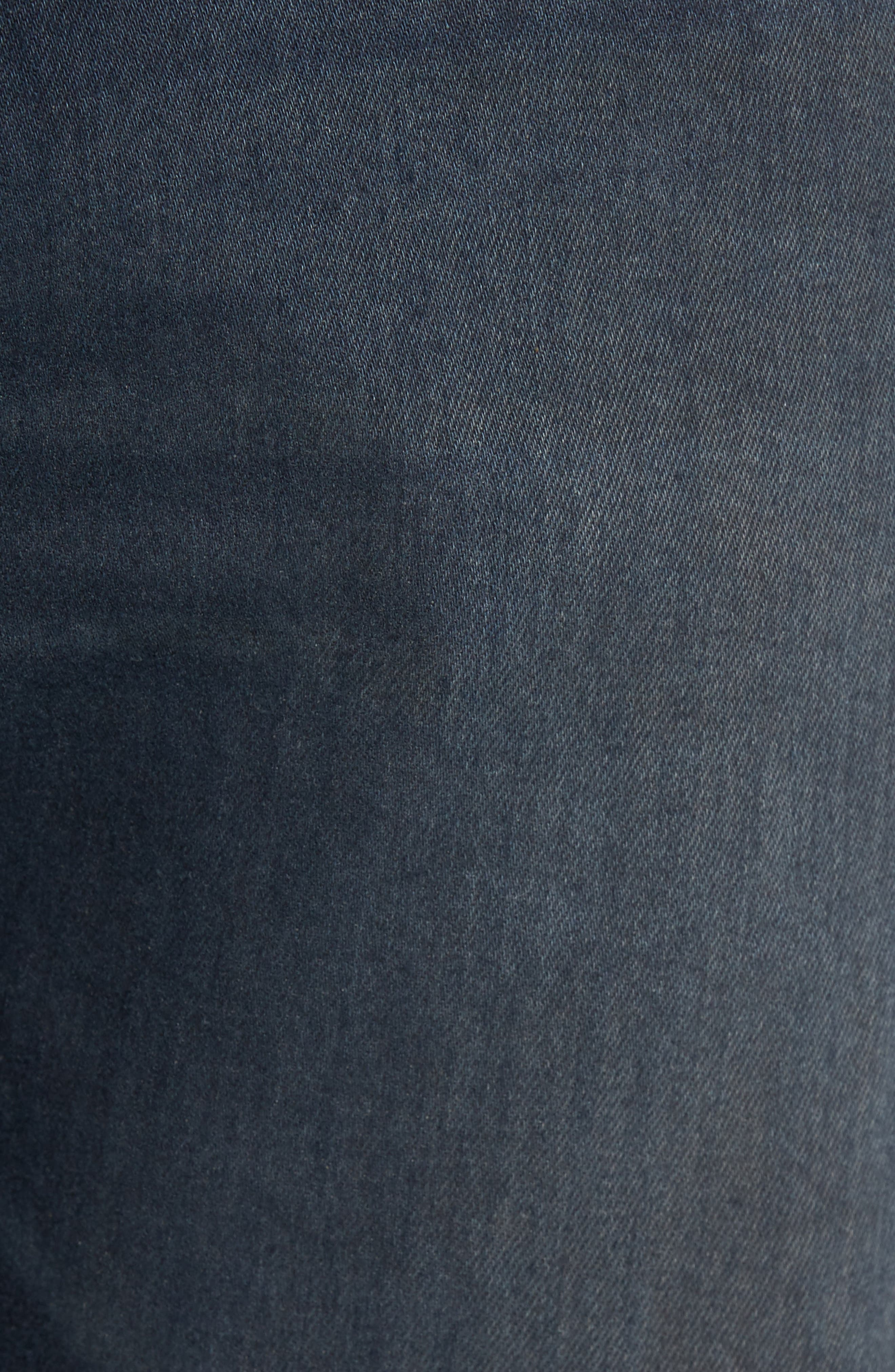 Alternate Image 5  - AG Ives Straight Fit Jeans (Blue Smolder)