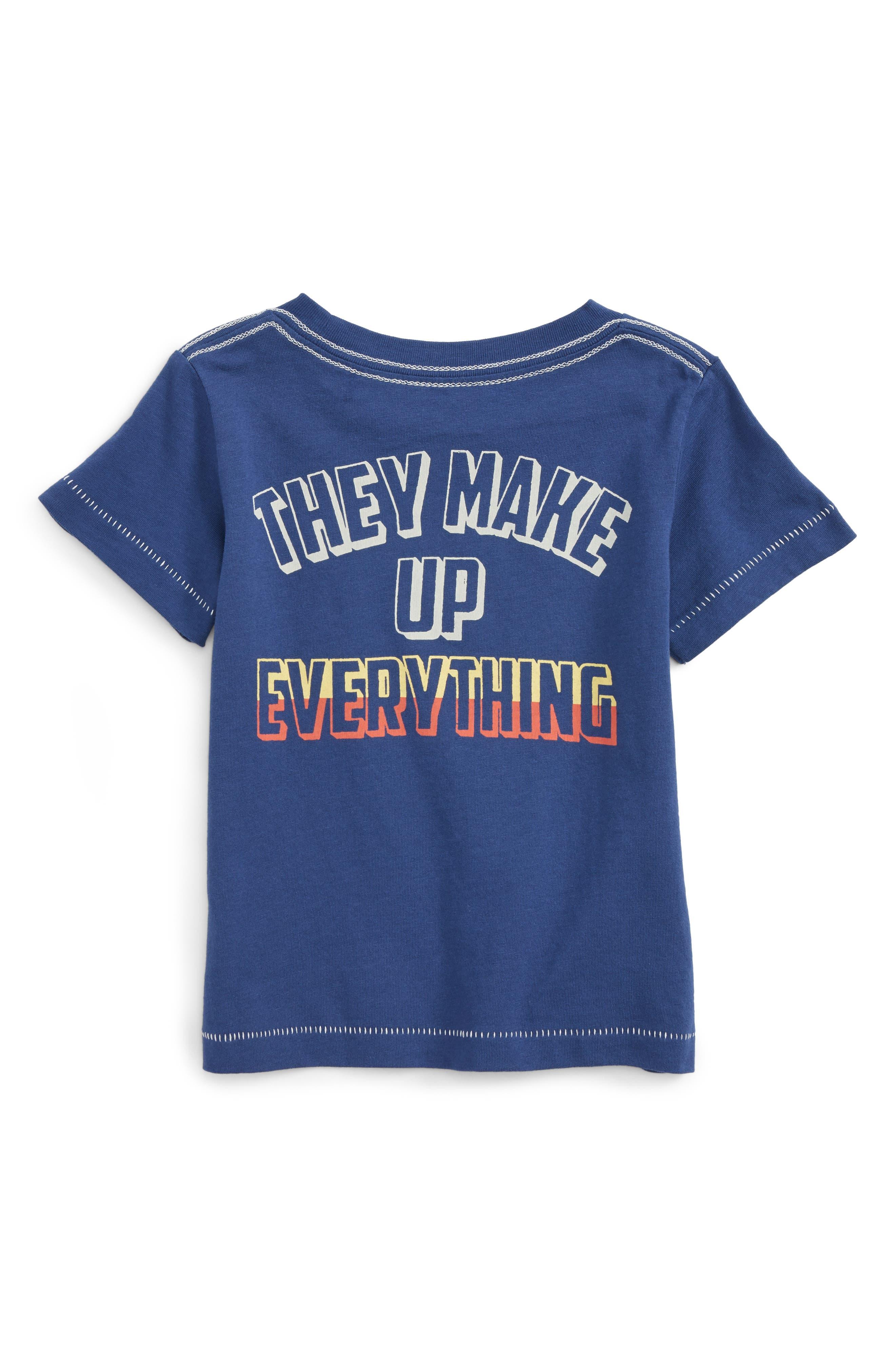 Alternate Image 2  - Peek Don't Trust Atoms T-Shirt (Baby Boys)