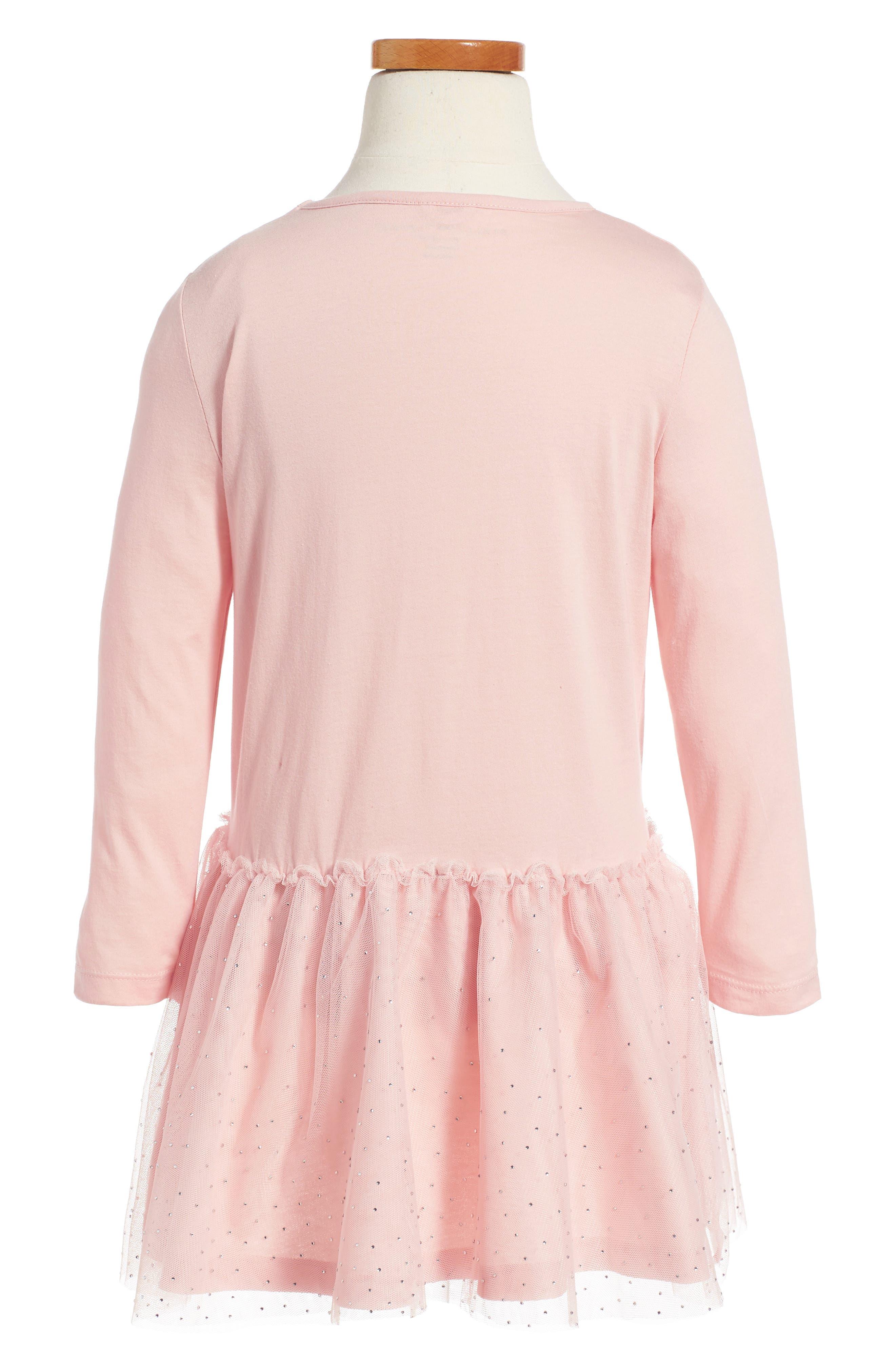 Kids Primrose Skates Dress,                             Alternate thumbnail 2, color,                             Pink