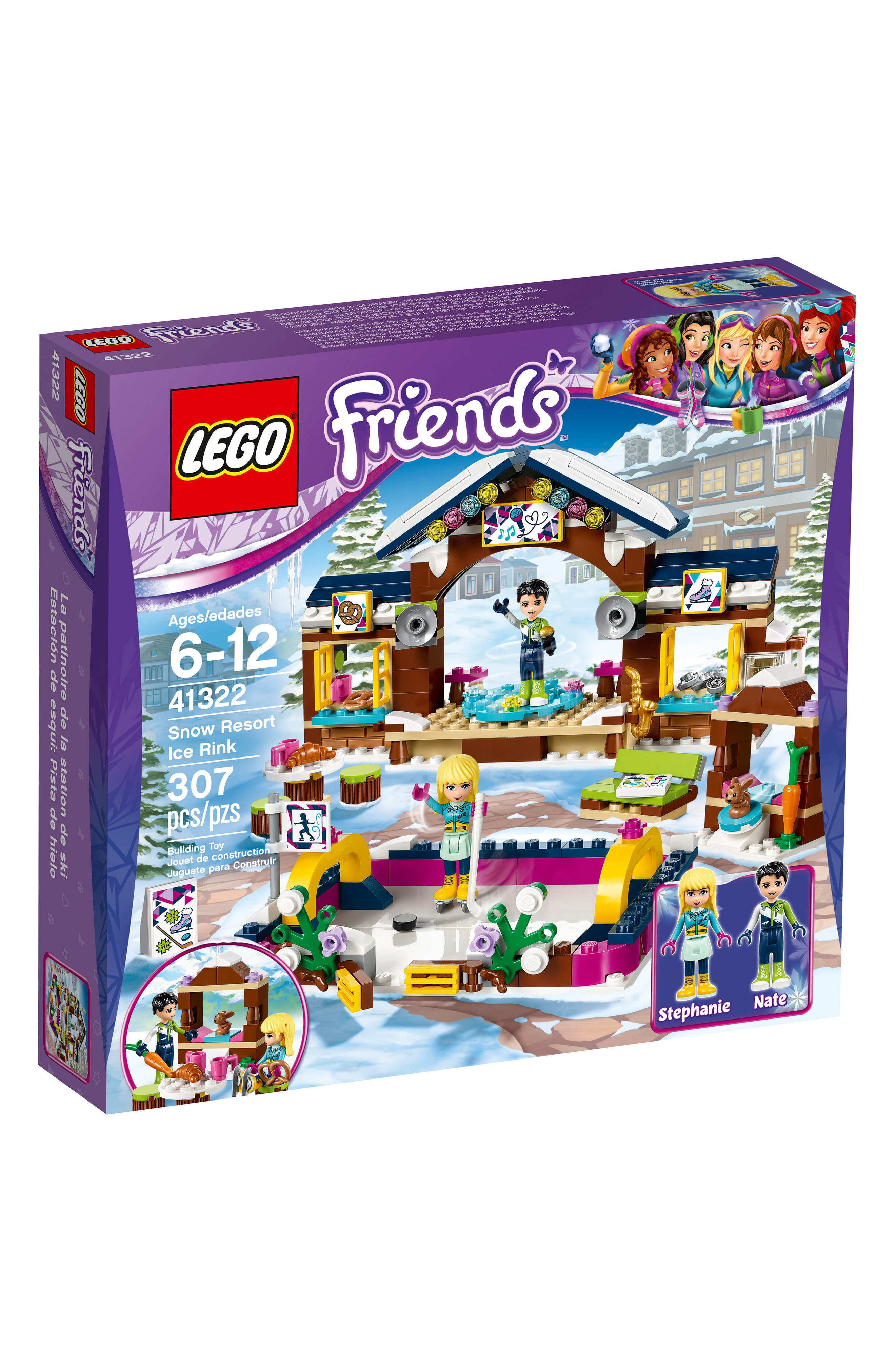 LEGO® Friends Snow Resort Ice Rink Play Set - 41322