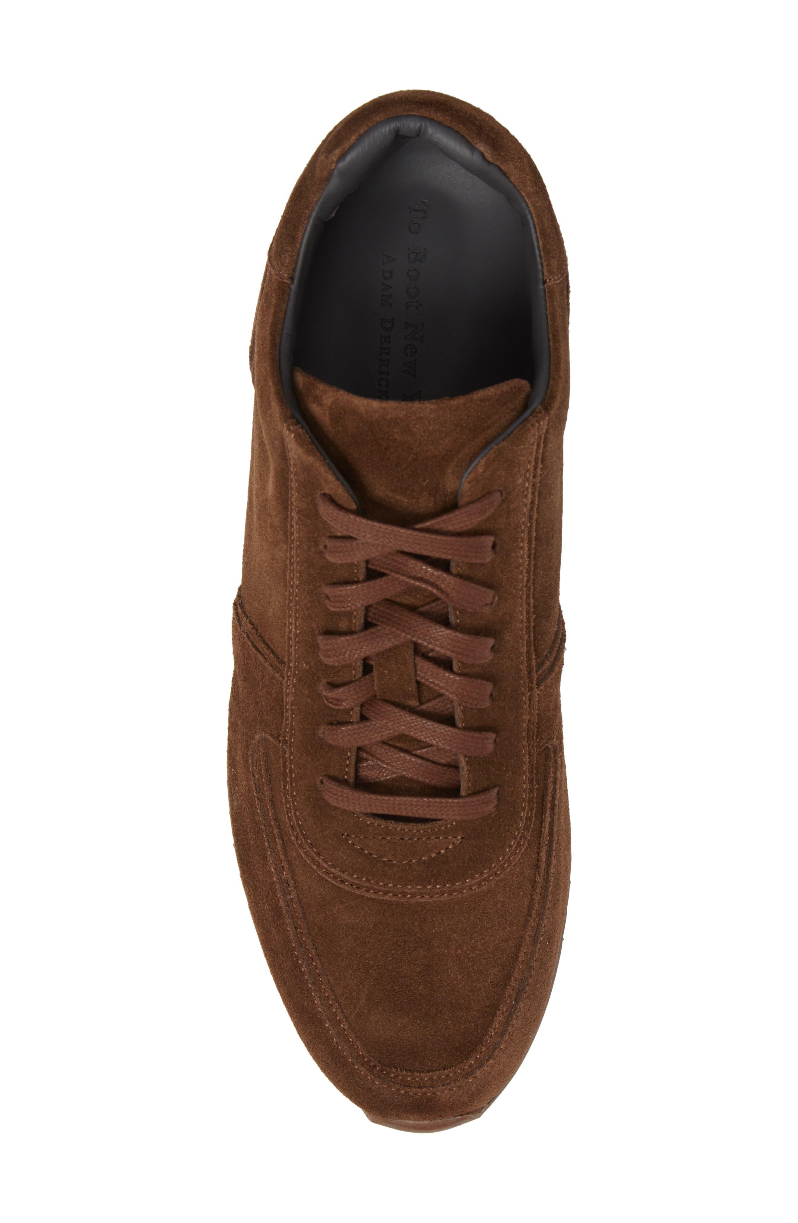 Hatton Sneaker,                             Alternate thumbnail 5, color,                             Softy Marrone