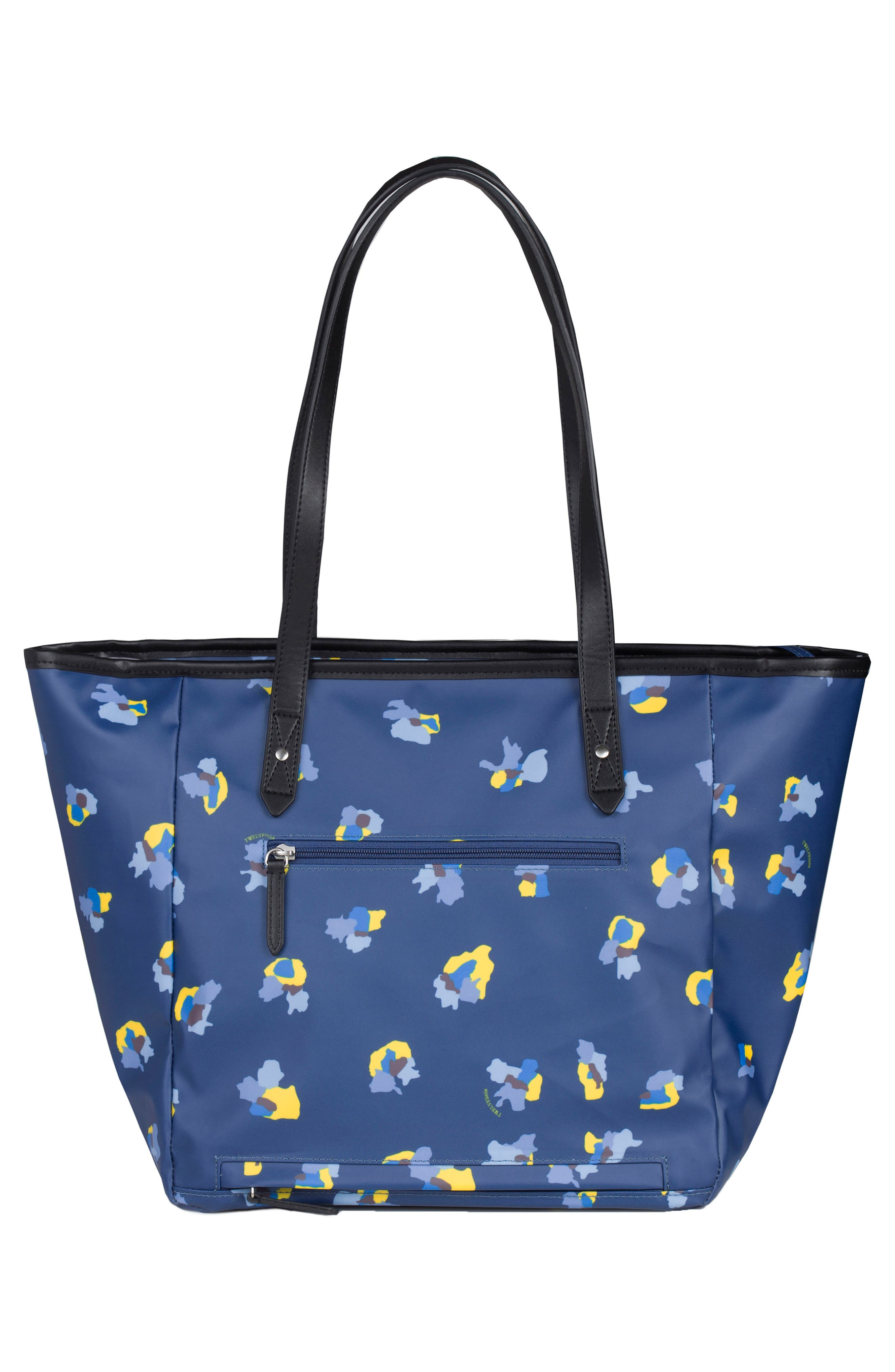 Everyday Diaper Tote Plus,                             Alternate thumbnail 2, color,                             Navy Floral Print
