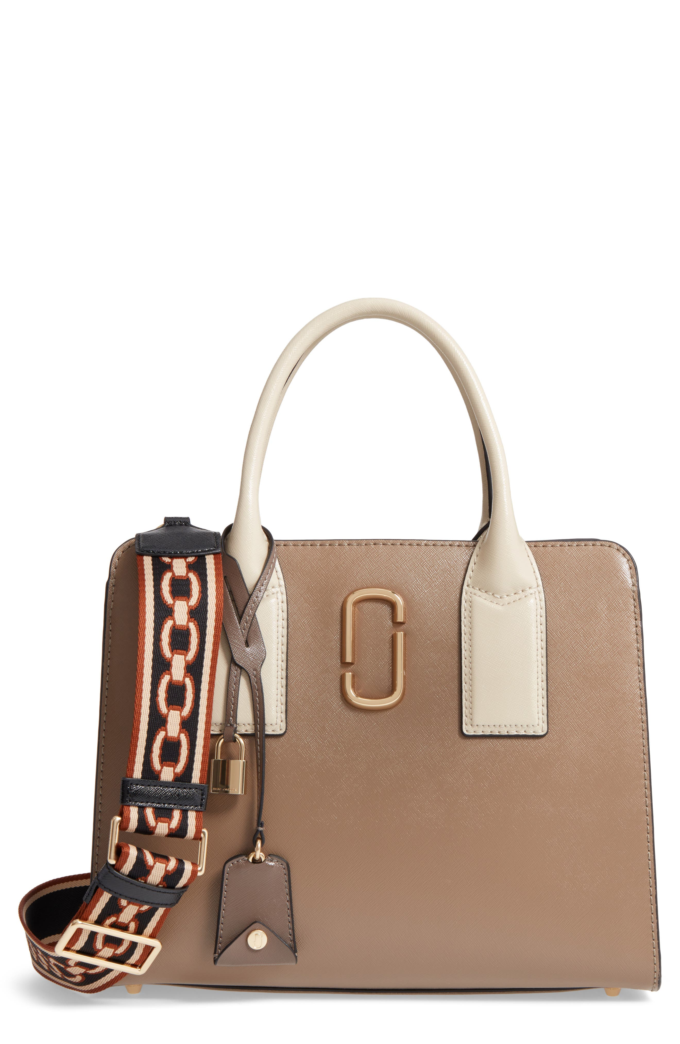 Alternate Image 1 Selected - MARC JACOBS Big Shot Leather Tote