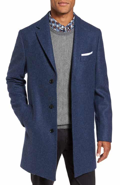 Blue Top Coats, Overcoats & Trench Coats for Men | Nordstrom ...