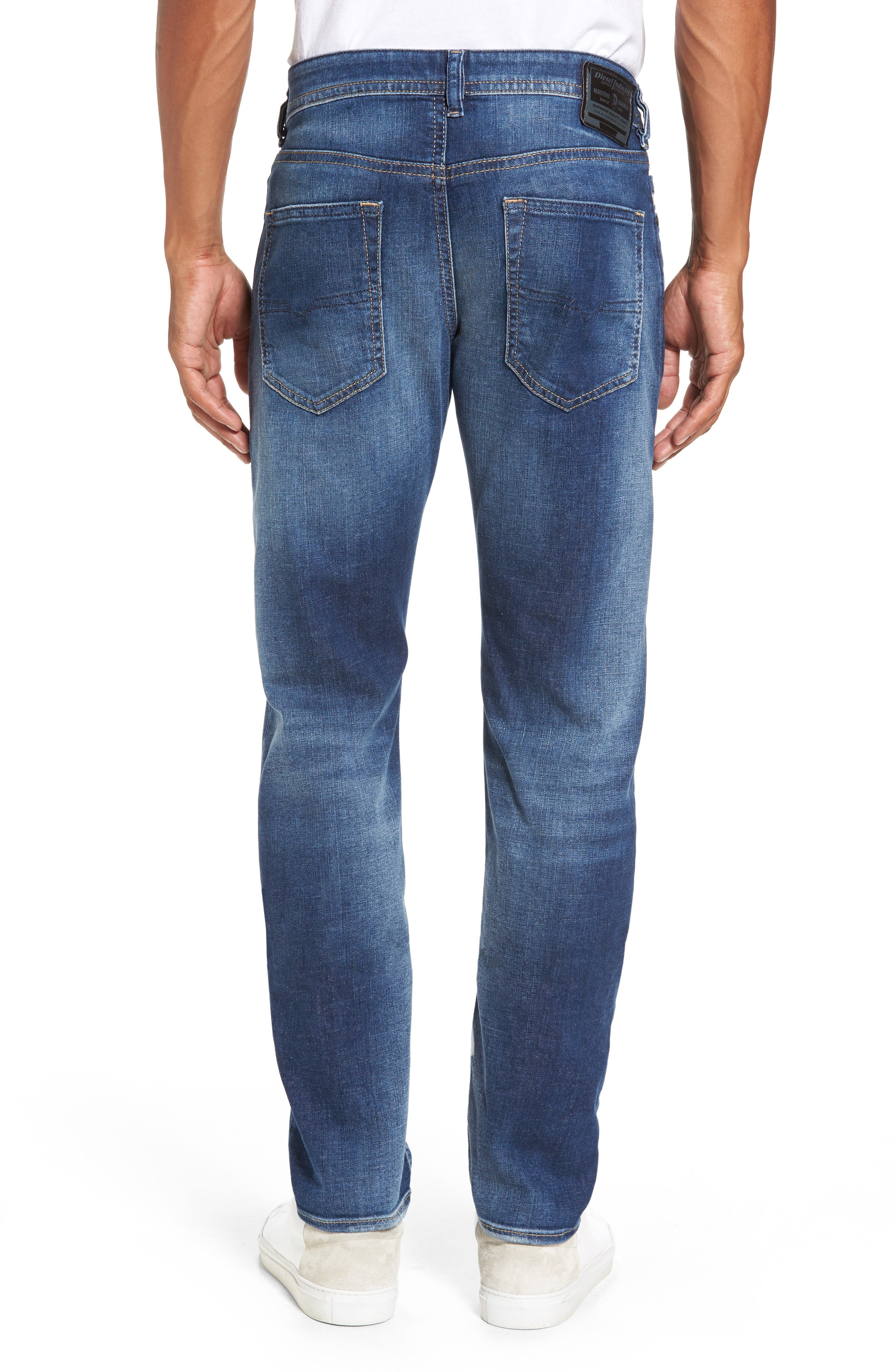 Buster Slim Straight Leg Jeans,                             Alternate thumbnail 2, color,                             084Gr