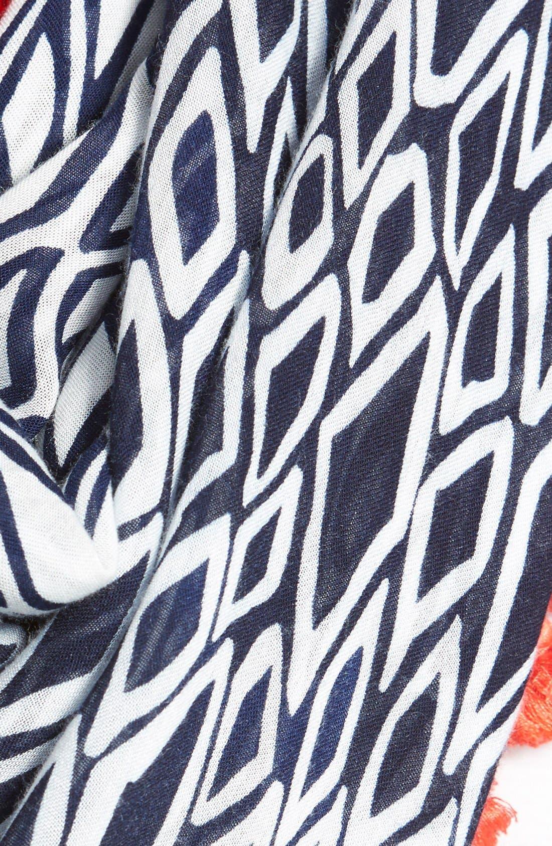 Alternate Image 4  - Diane von Furstenberg Geometric Print Infinity Scarf