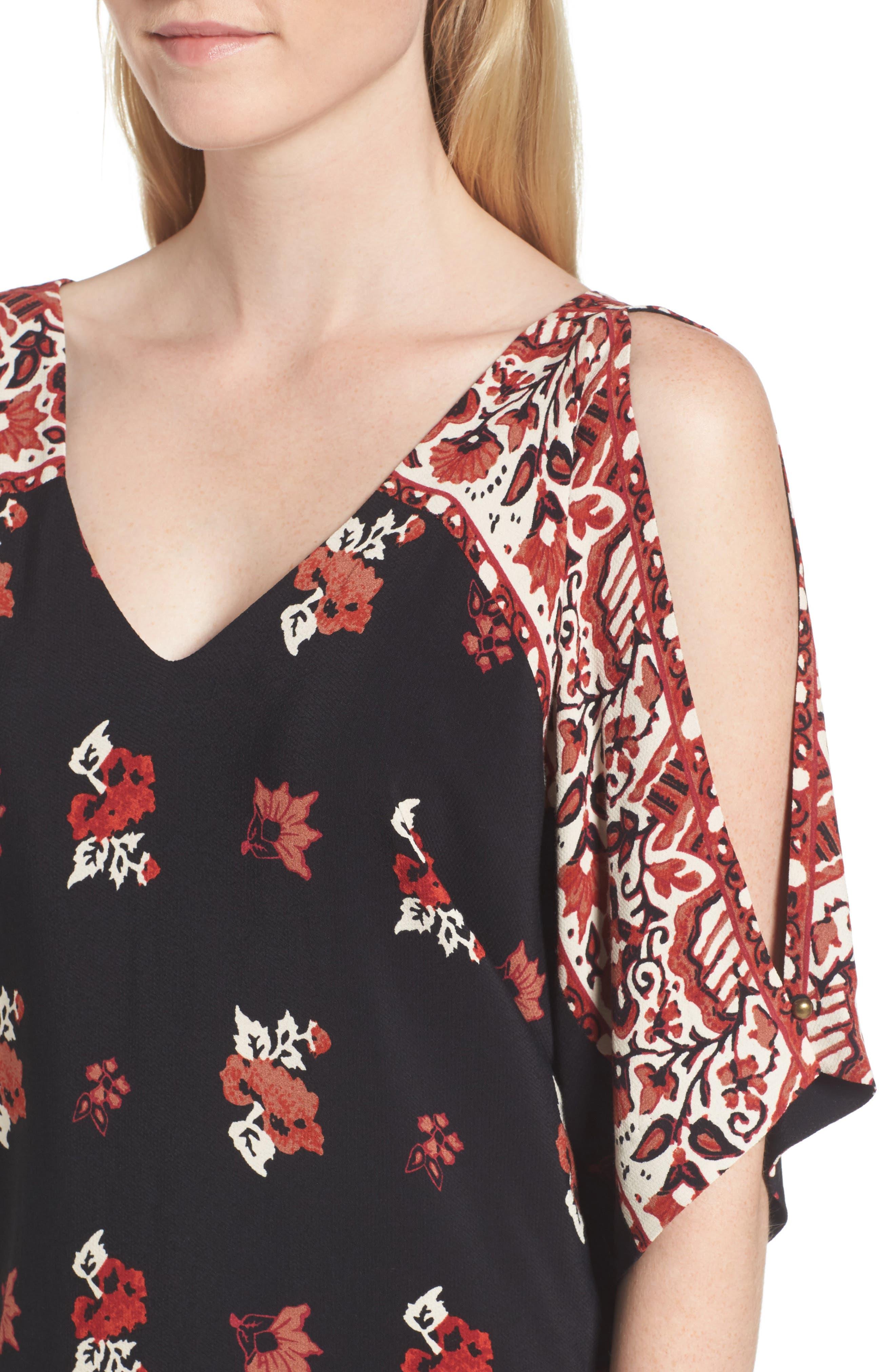 Alternate Image 4  - Ella Moss Floral Shift Dress