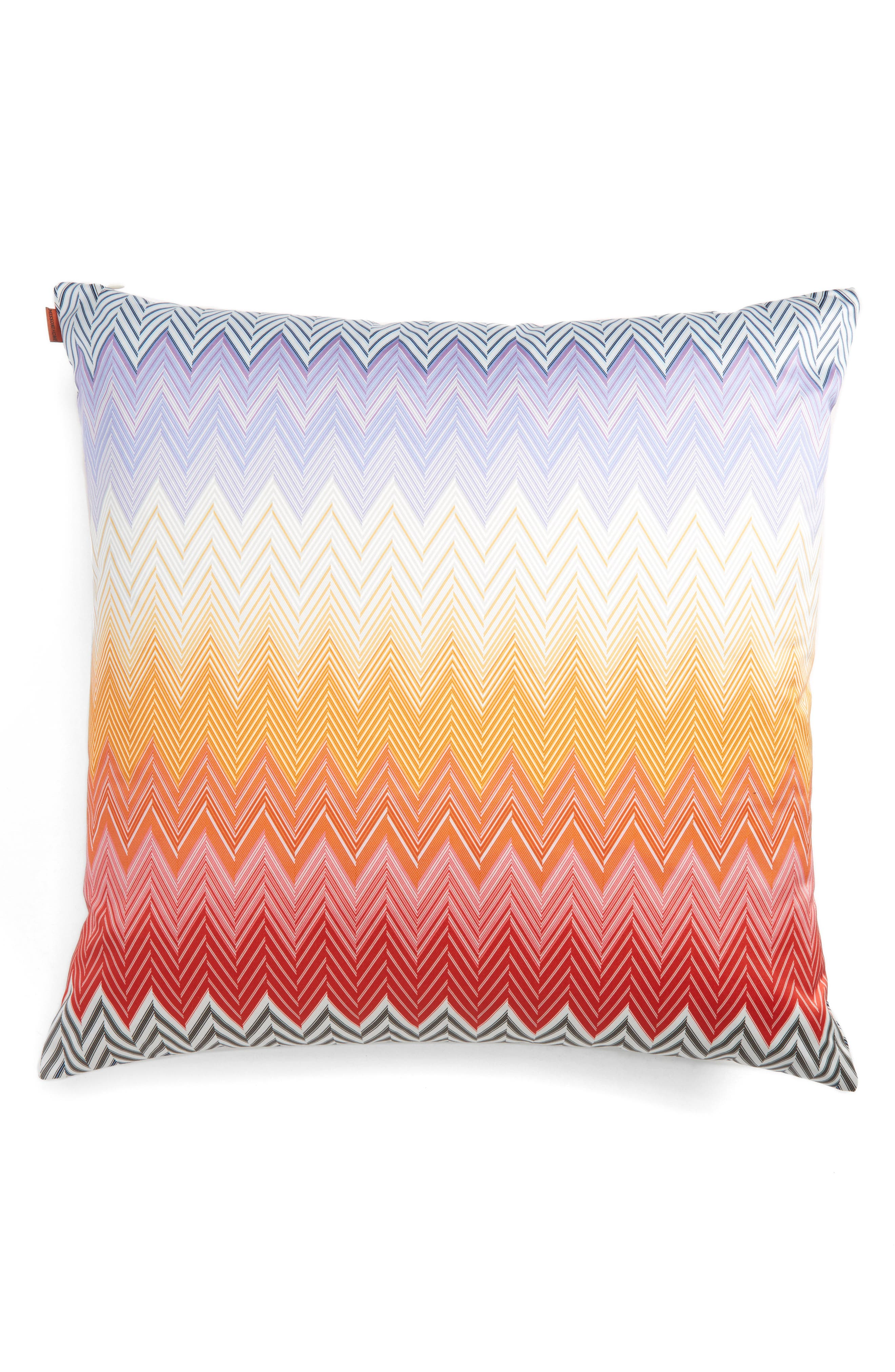 Sabaudia Accent Pillow,                             Main thumbnail 1, color,                             Multi Red
