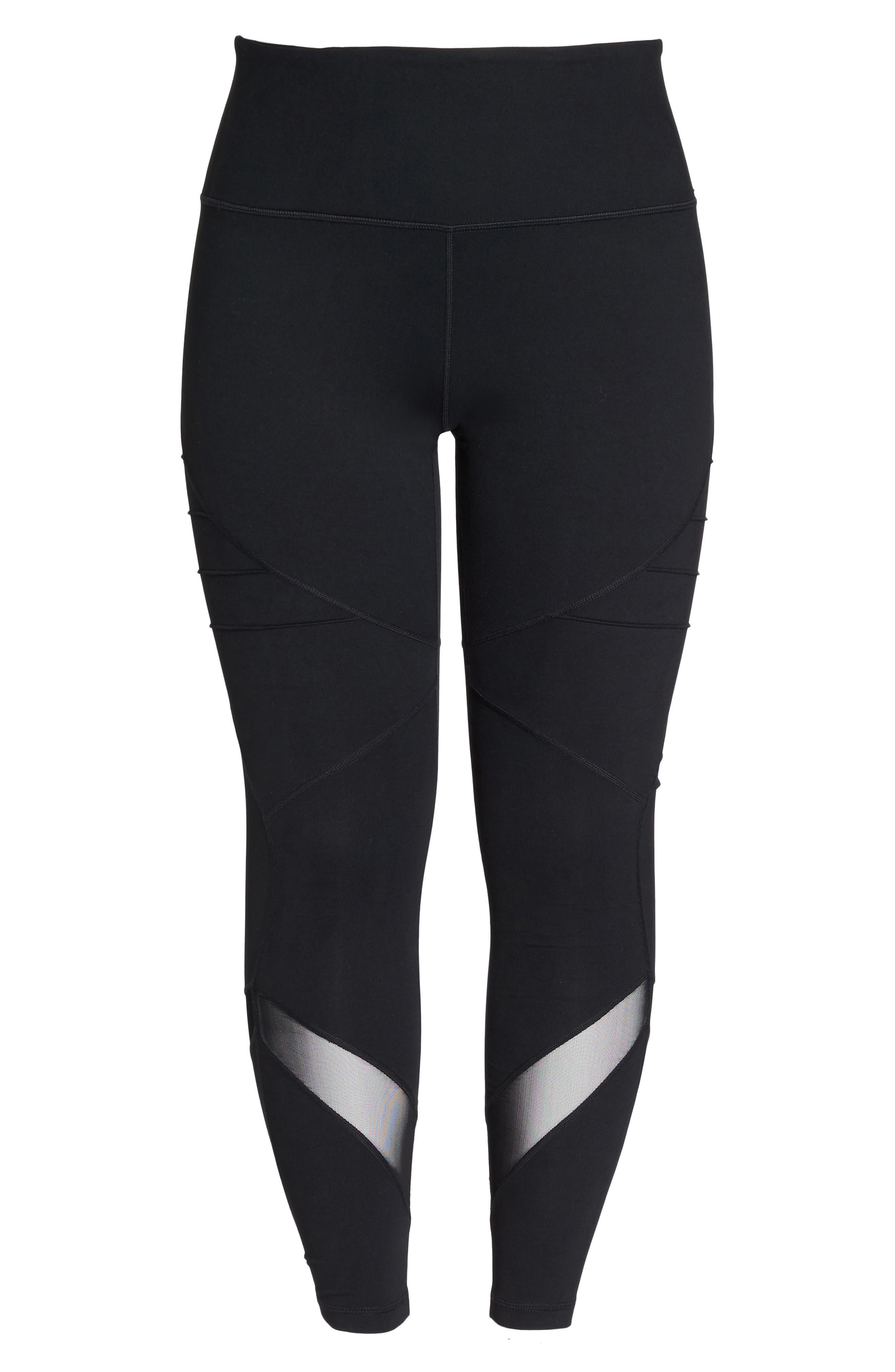 Alternate Image 6  - Zella Infinity High Waist Leggings (Plus Size)