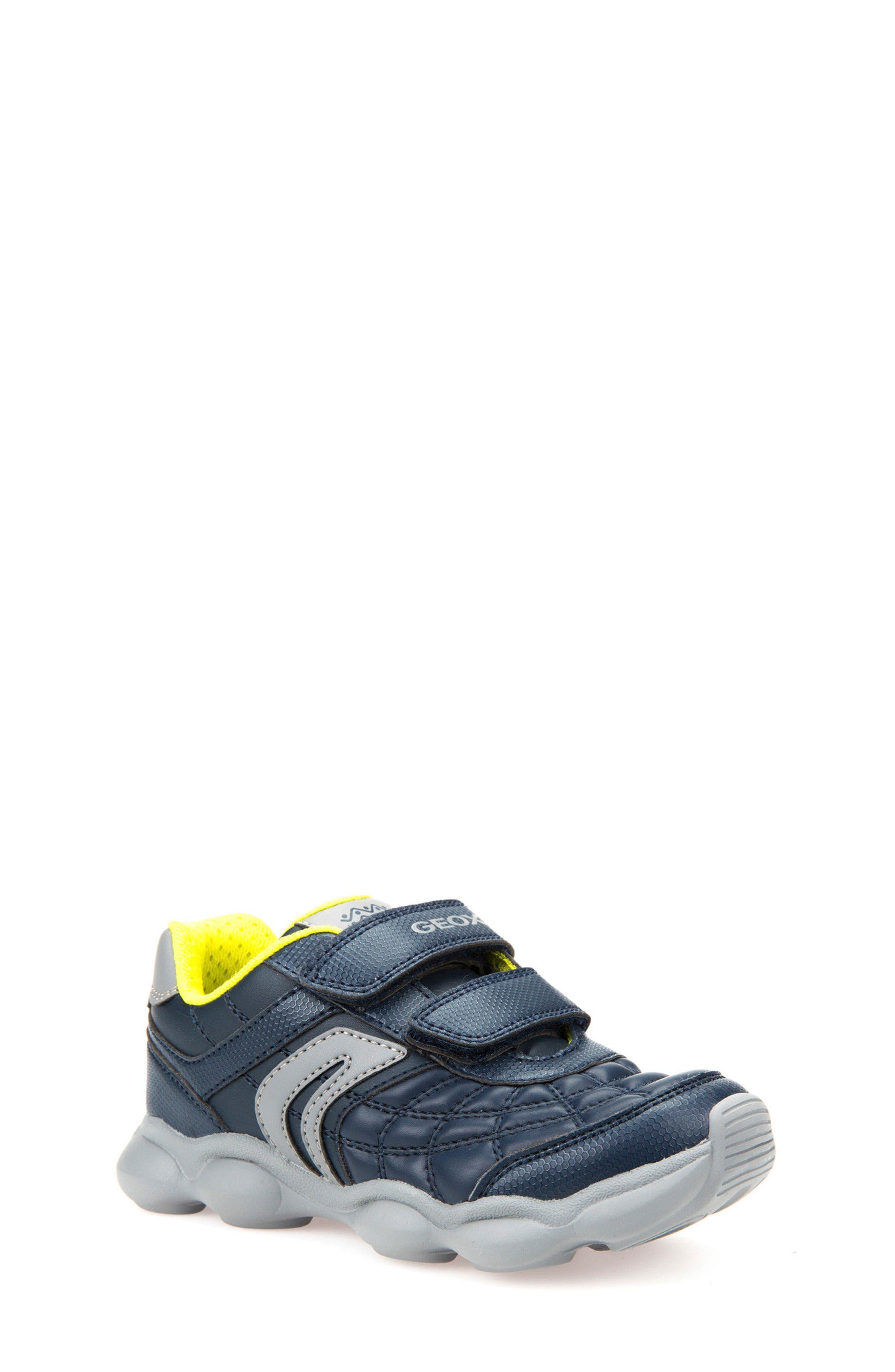 Munfrey Sneaker,                         Main,                         color, Navy/ Grey