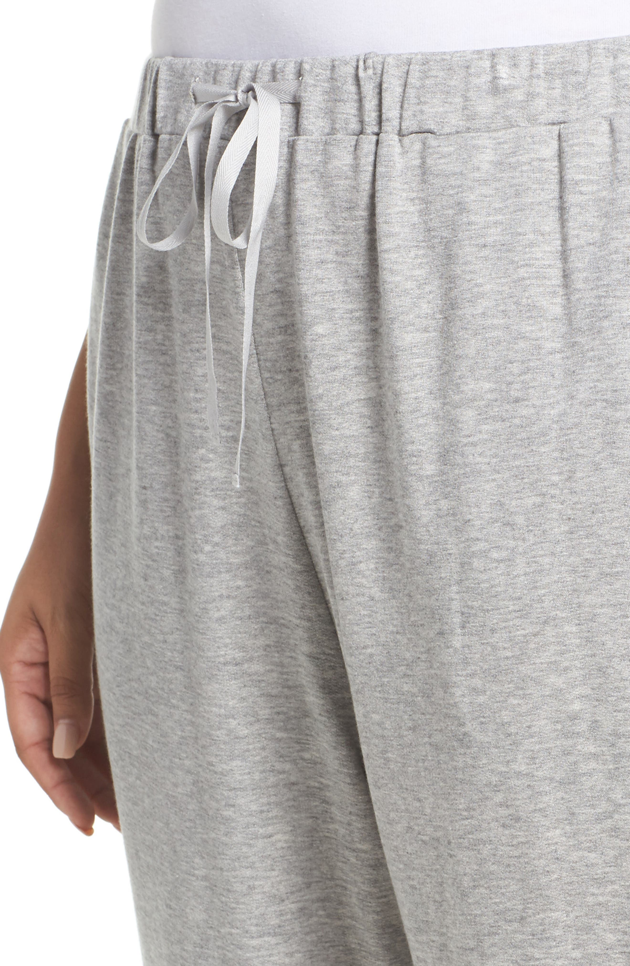 Alternate Image 4  - Eileen Fisher Drawstring Ankle Pants (Plus Size)