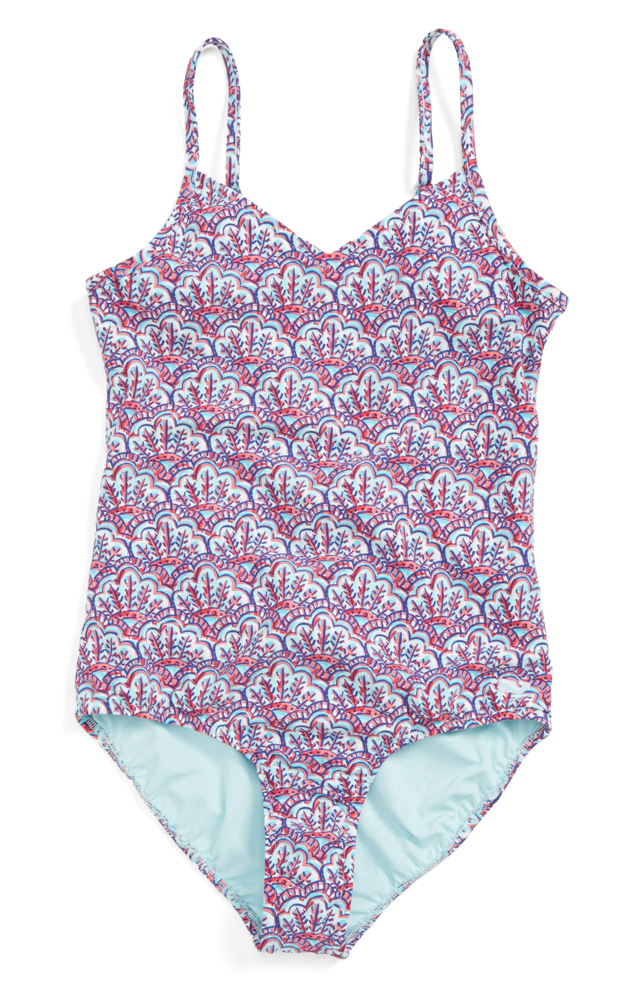 Vineyard Vines One-Piece Swimsuit (Little Girls & Big Girls)