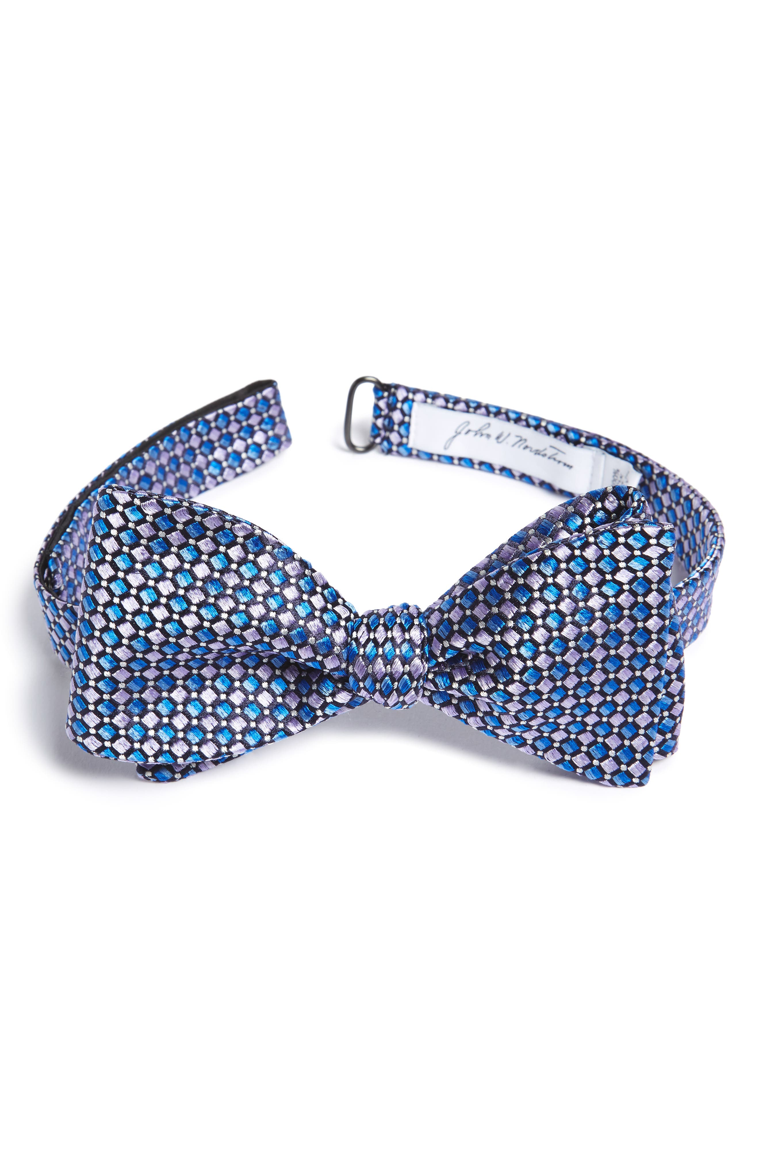 Main Image - John W. Nordstrom® Geometric Silk Bow Tie