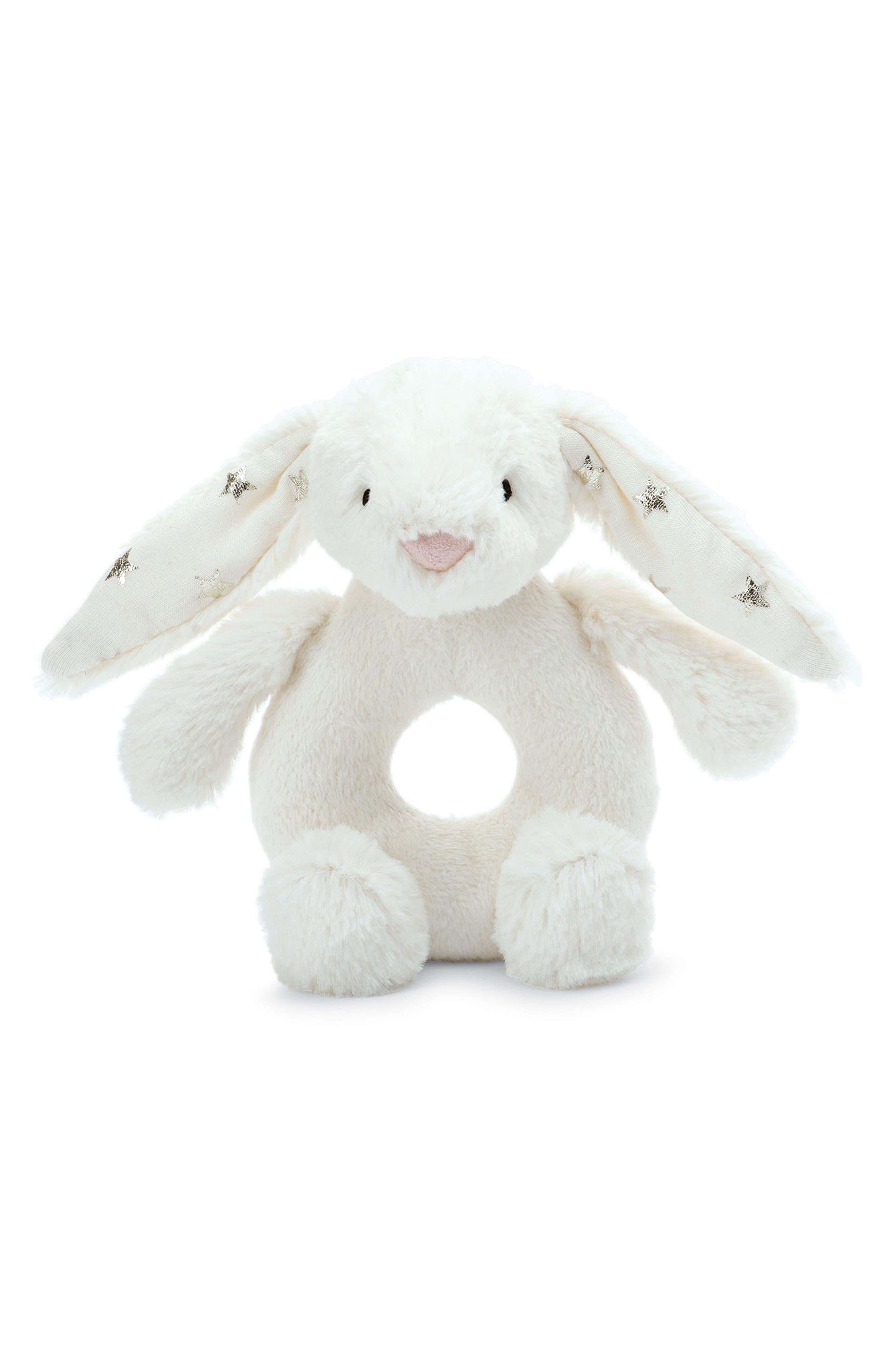 Jellycat Twinkle Bunny Ring Rattle