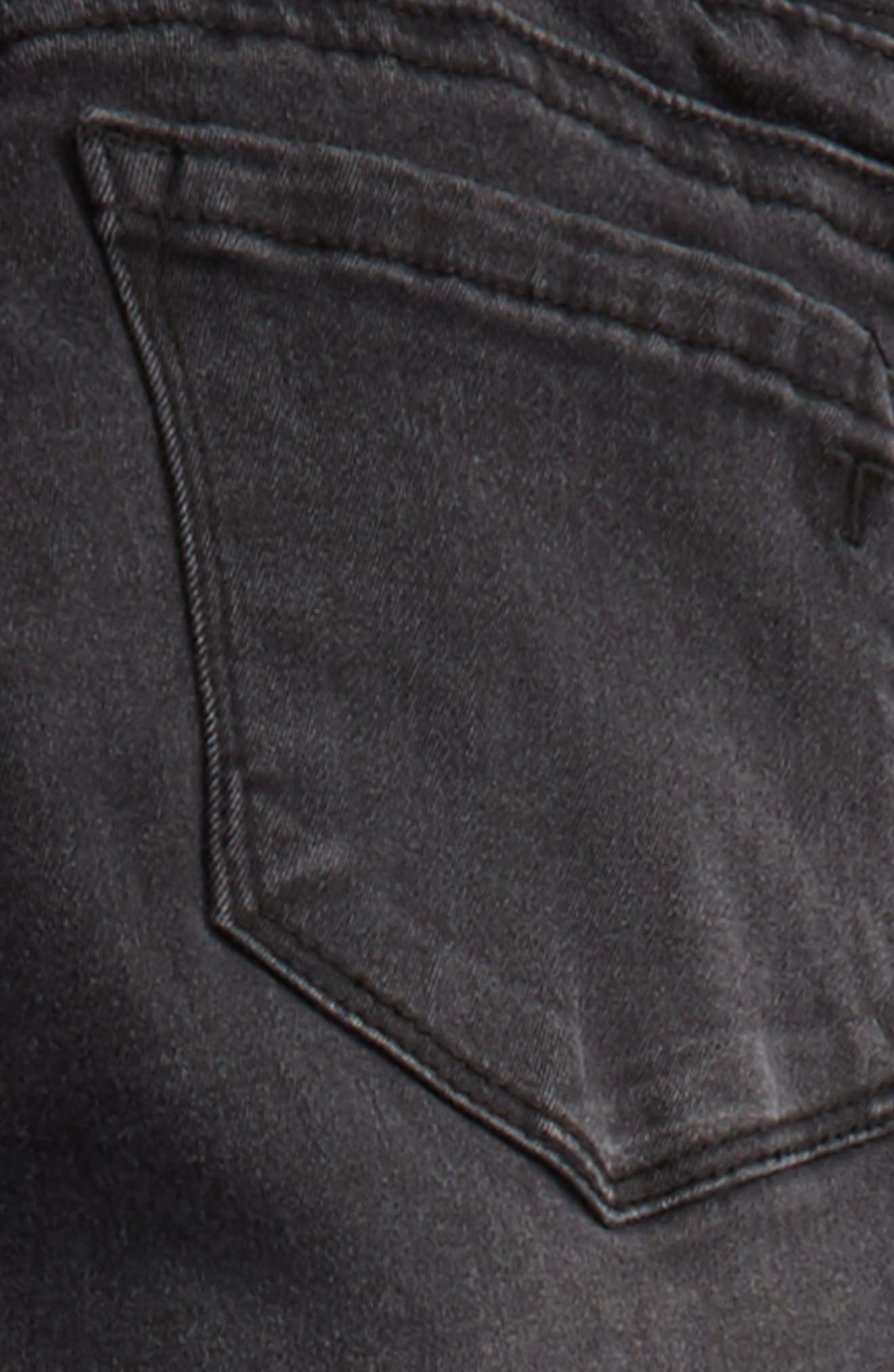Alternate Image 3  - Tractr Frayed Denim Pants (Big Girls)