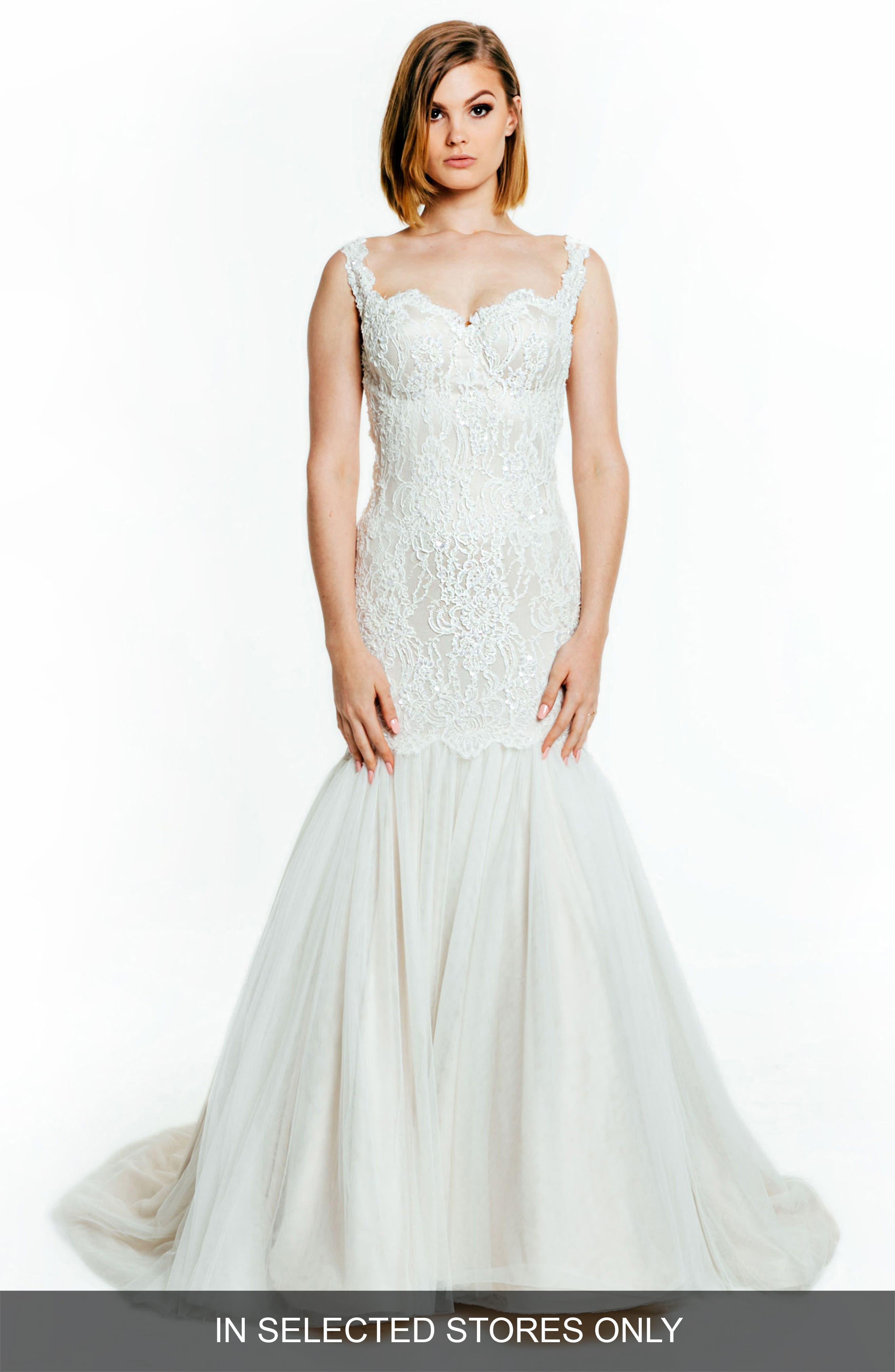 Francesca Sleeveless Sweetheart Silk Gown,                             Main thumbnail 1, color,                             Latte