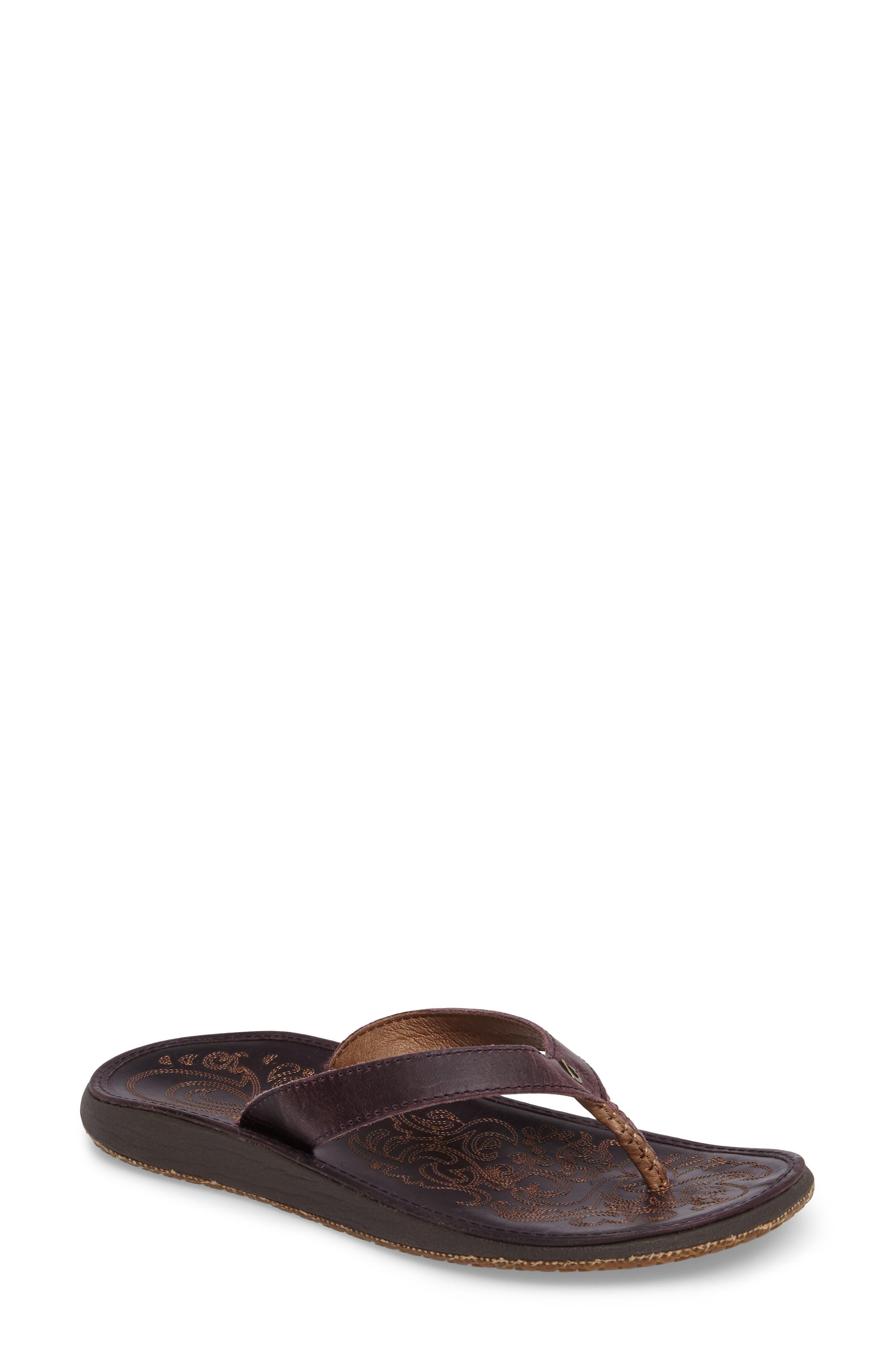 Alternate Image 1 Selected - OluKai 'Paniolo' Thong Sandal
