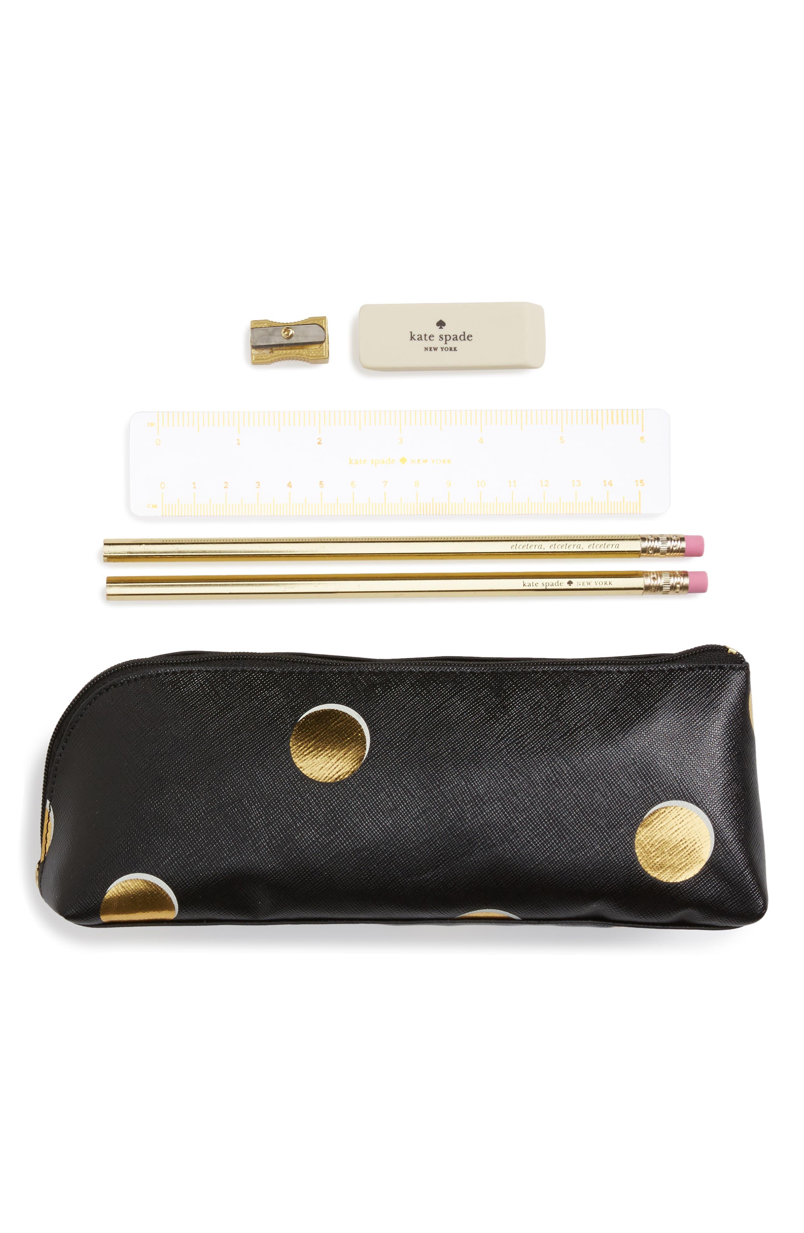 scatter dot pencil case,                         Main,                         color, Scatter Dot