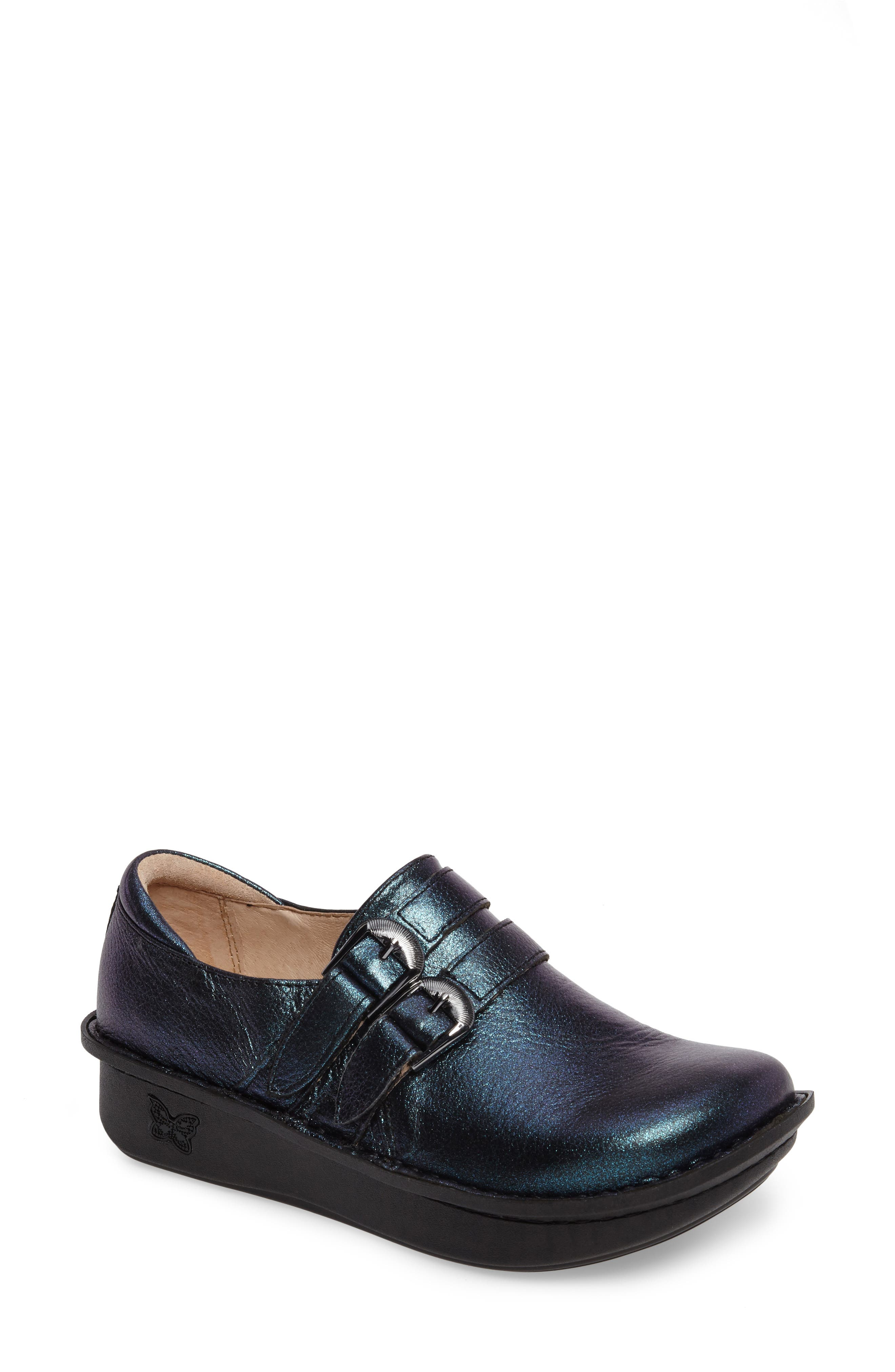 'Alli' Loafer,                             Main thumbnail 1, color,                             Starlit Leather