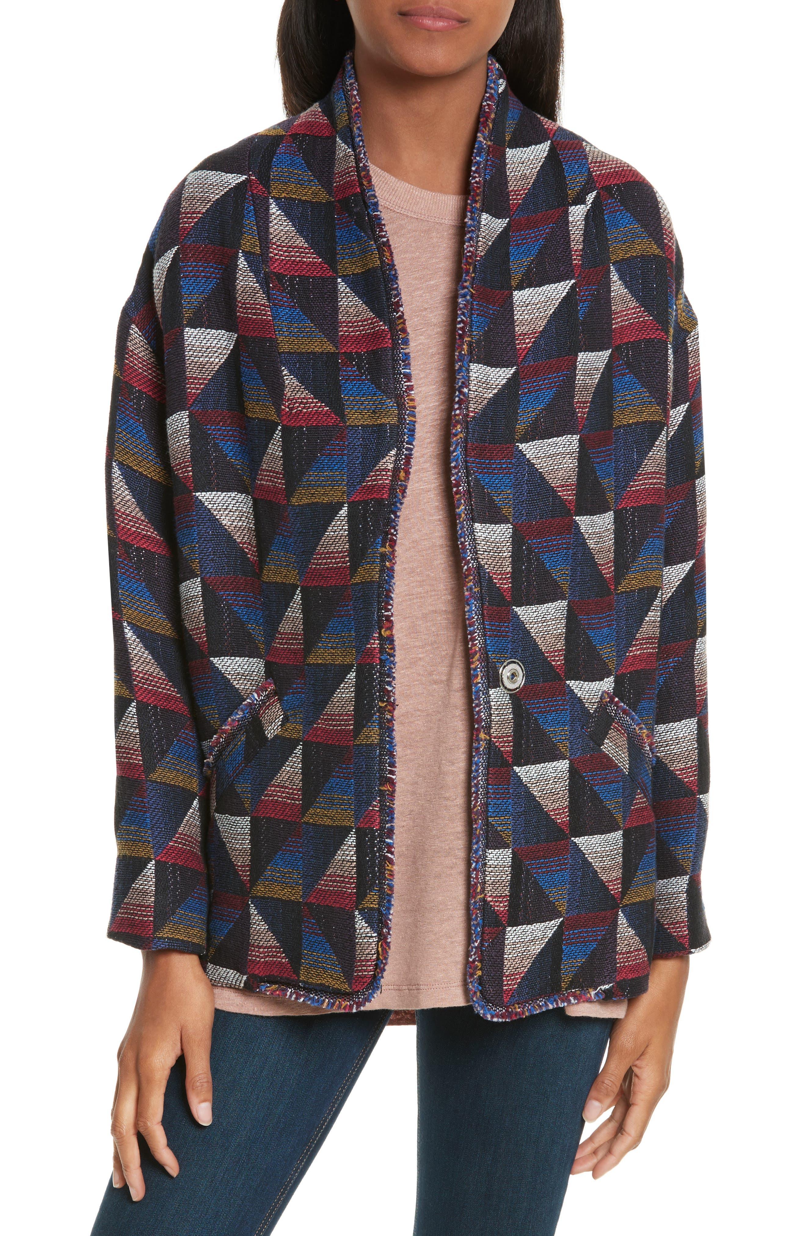 Alternate Image 1 Selected - IRO Malhi Cotton Blend Jacket