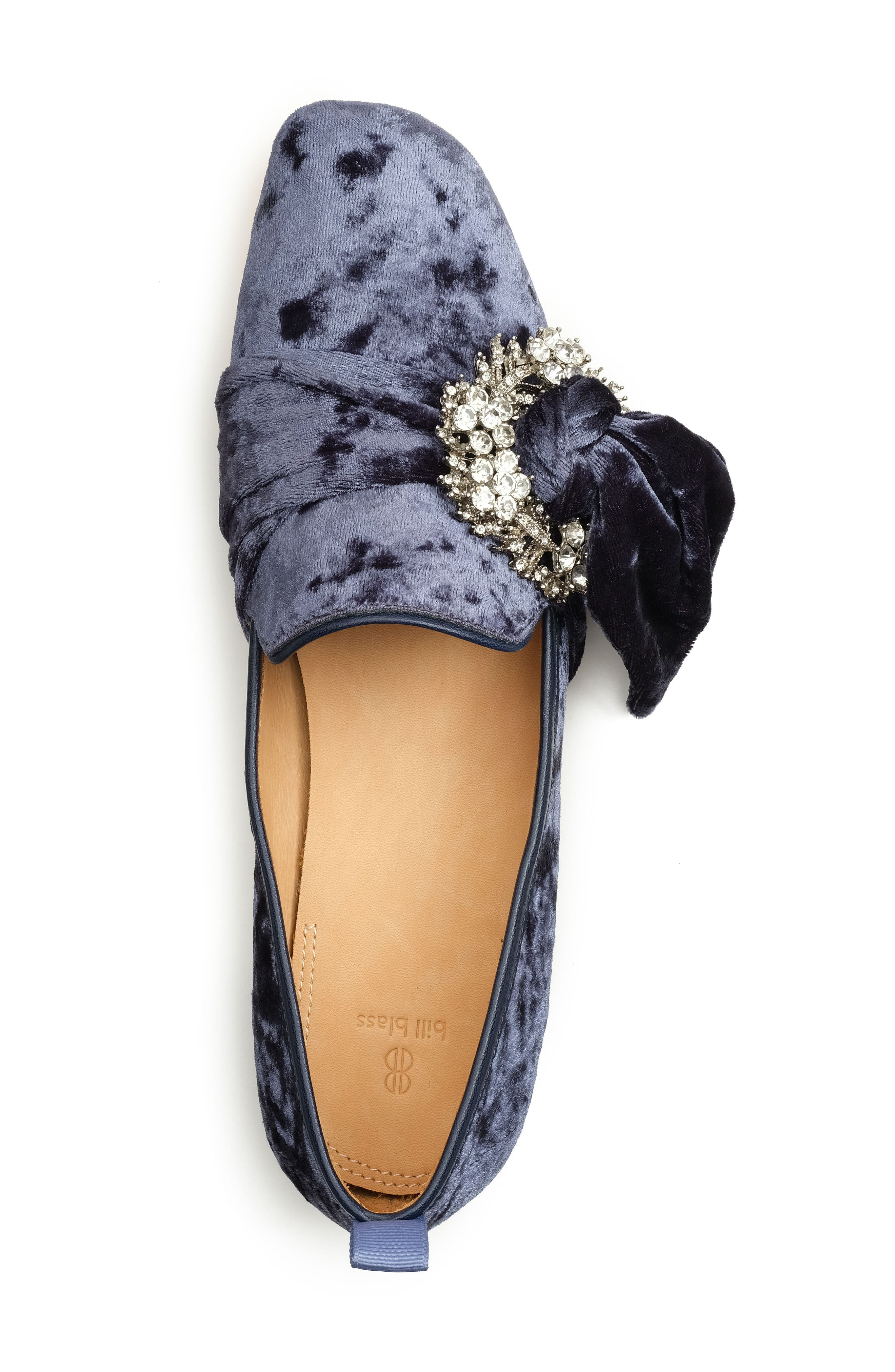 Alternate Image 4  - Bill Blass Laverne Embellished Loafer (Women)
