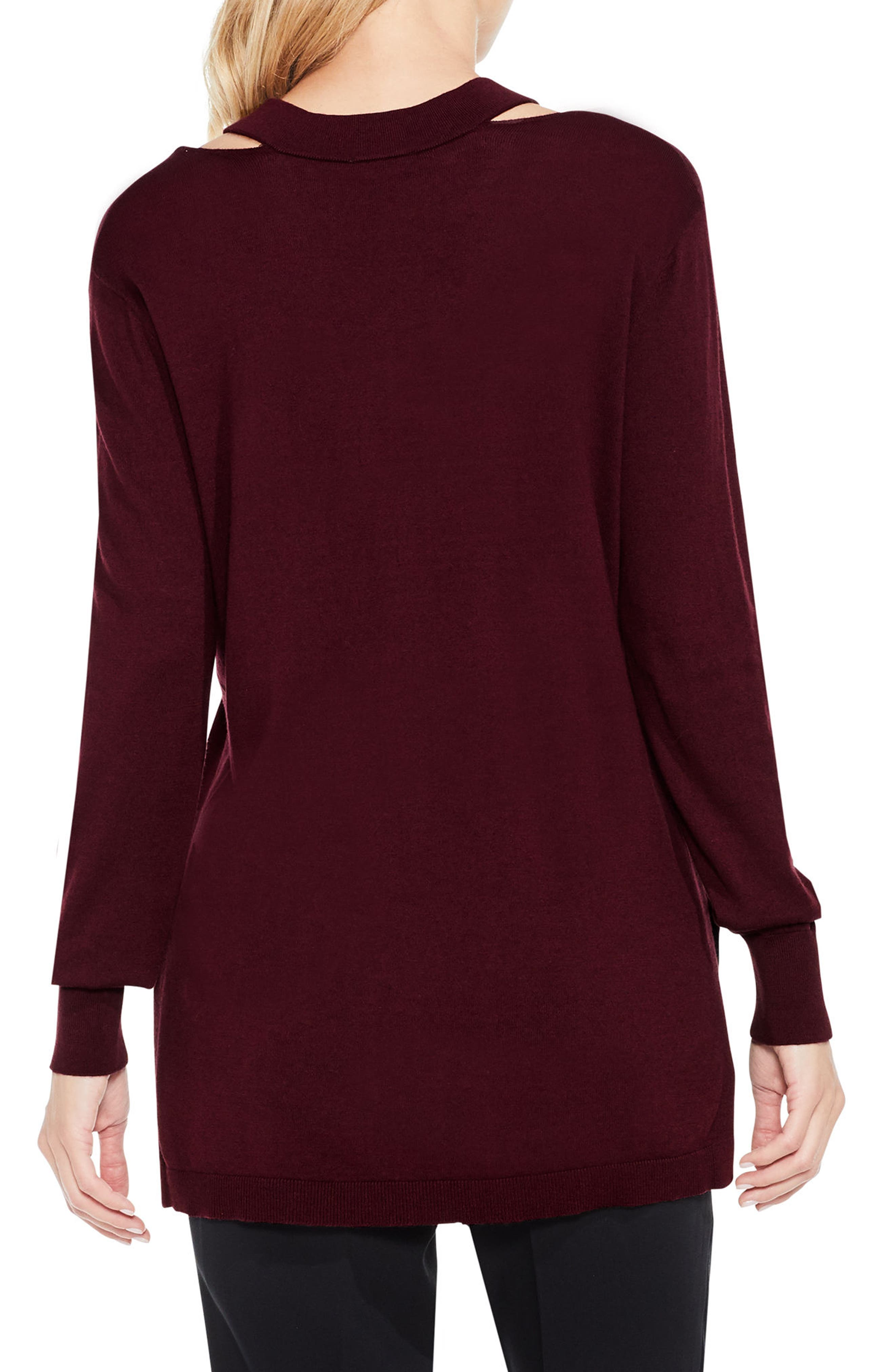 Alternate Image 2  - Vince Camuto Cutout Neck Sweater