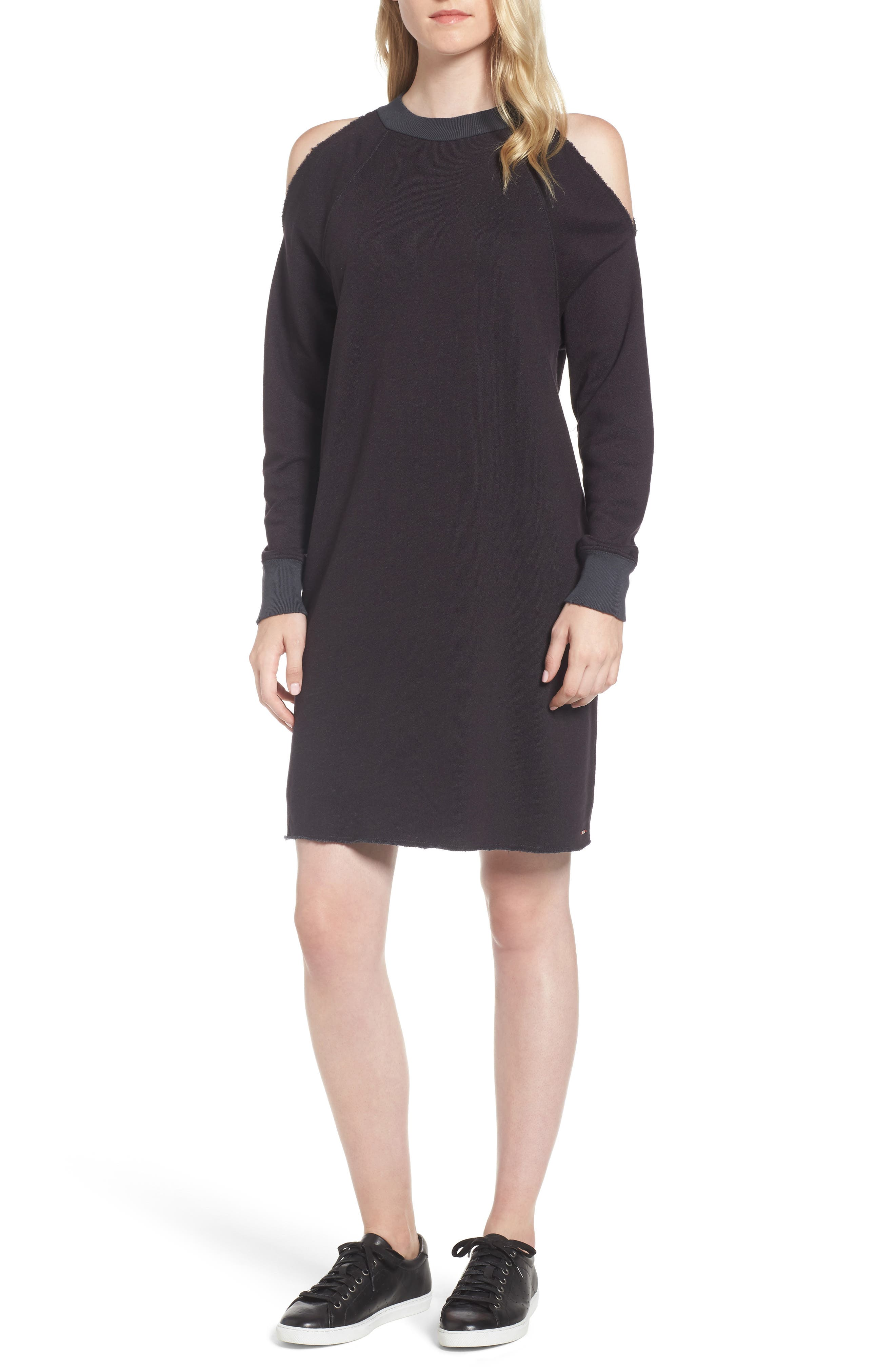 n:PHILANTHROPY Chrome Cold Shoulder Dress