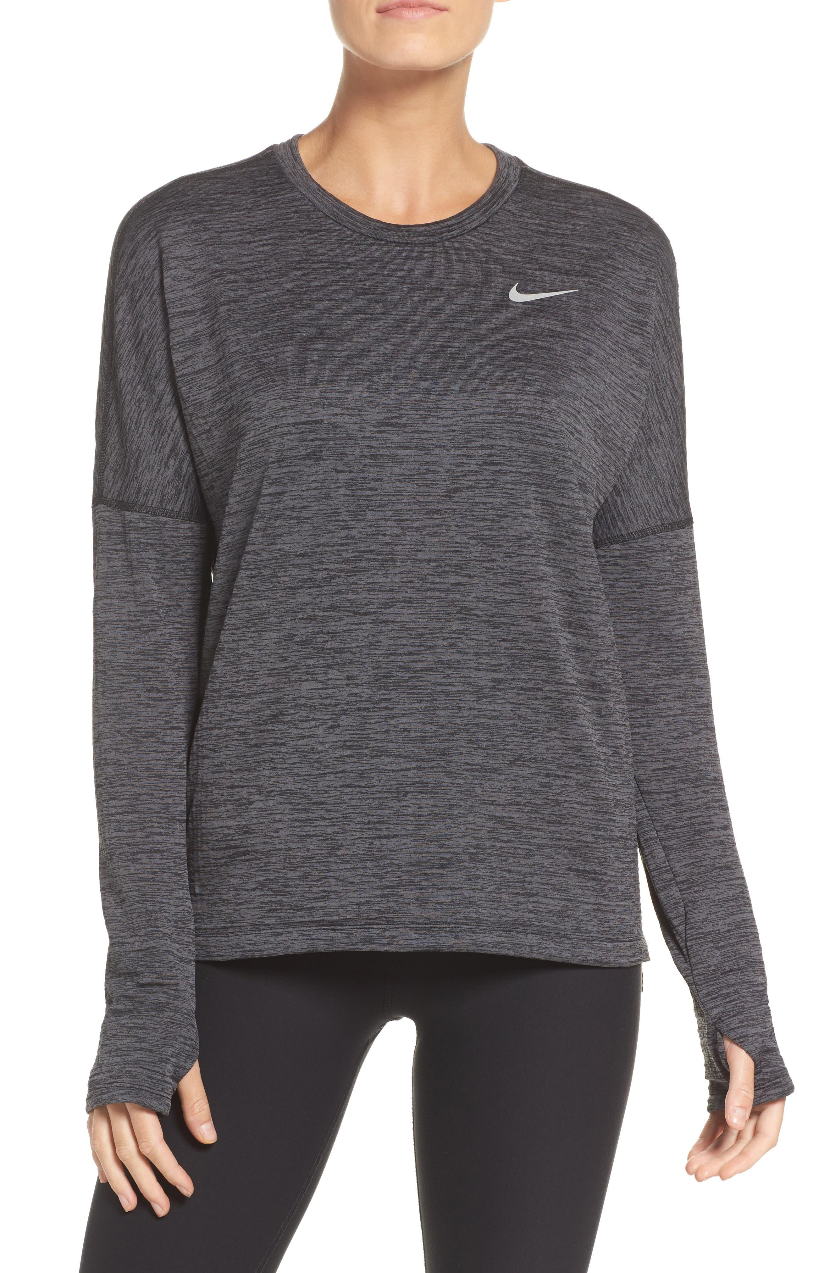 Alternate Image 1 Selected - Nike Therma Sphere Element Running Top