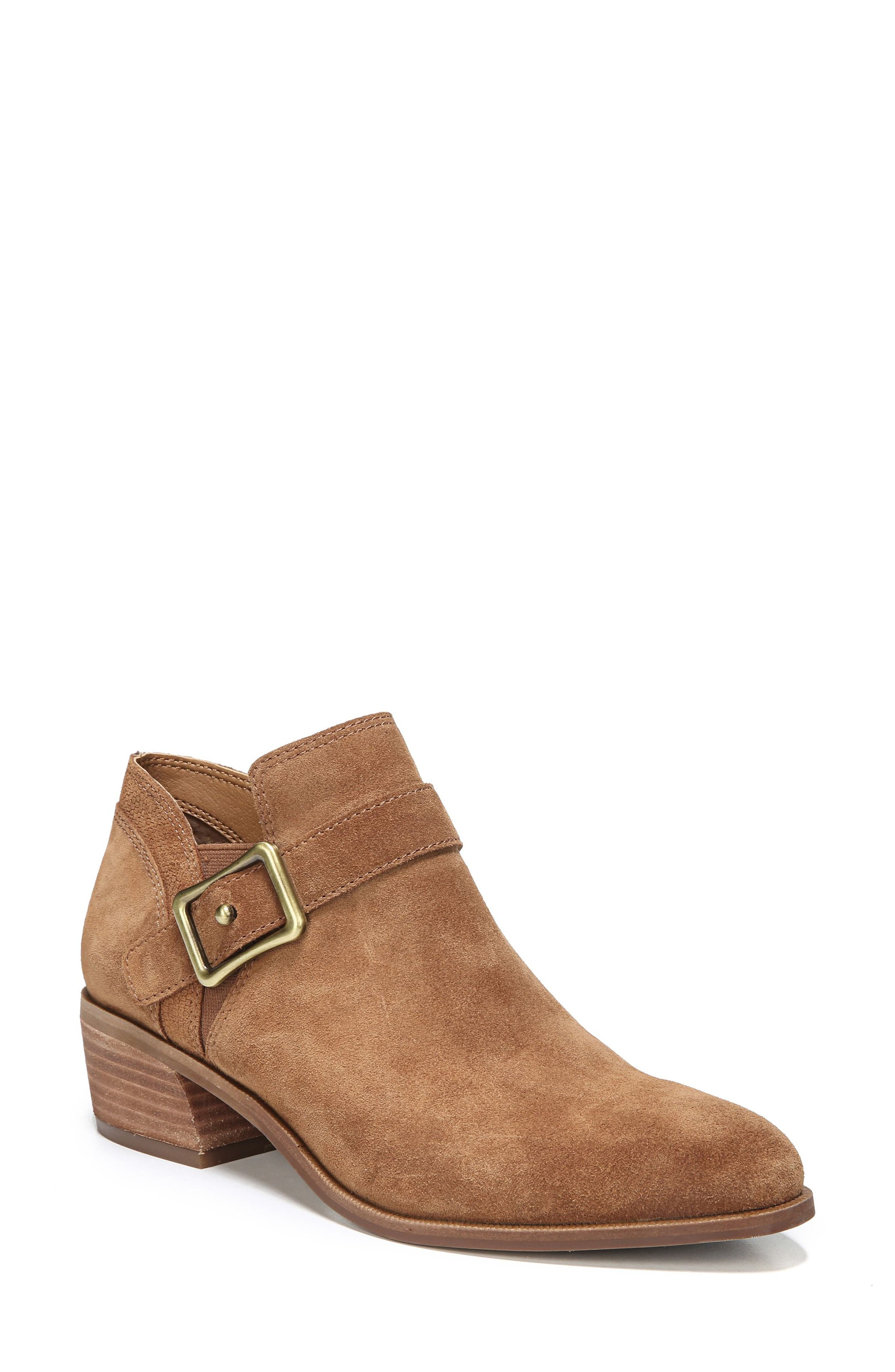 Penna Bootie,                             Main thumbnail 1, color,                             Whiskey Suede