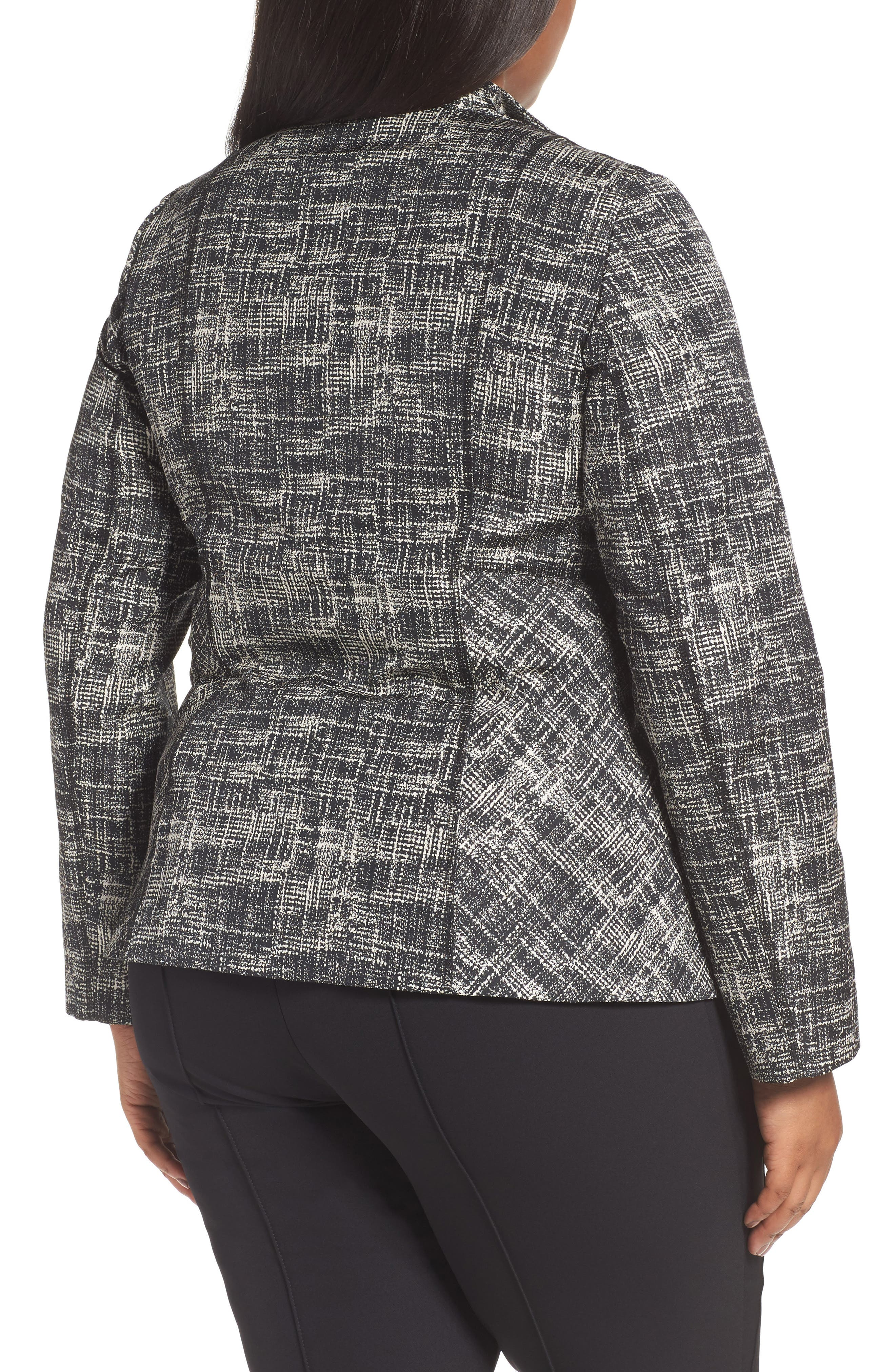 Britta Jacket,                             Alternate thumbnail 2, color,                             Black Multi