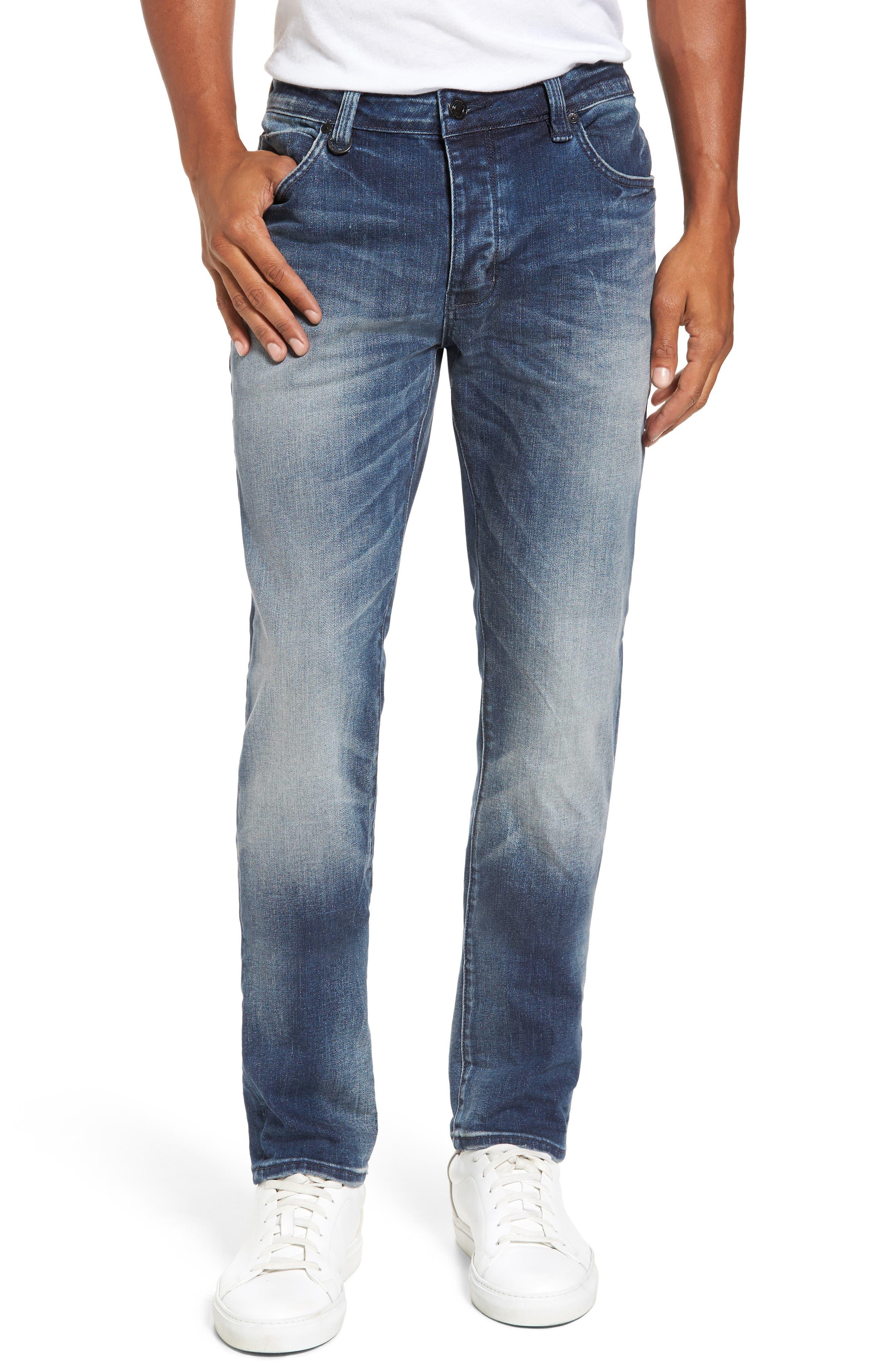 Lou Slim Fit Jeans,                         Main,                         color, Biker Wash